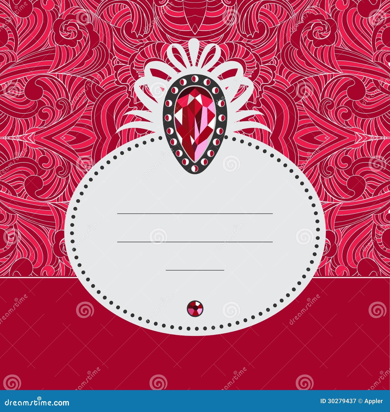 与最佳的红宝石的Jelivery卡片