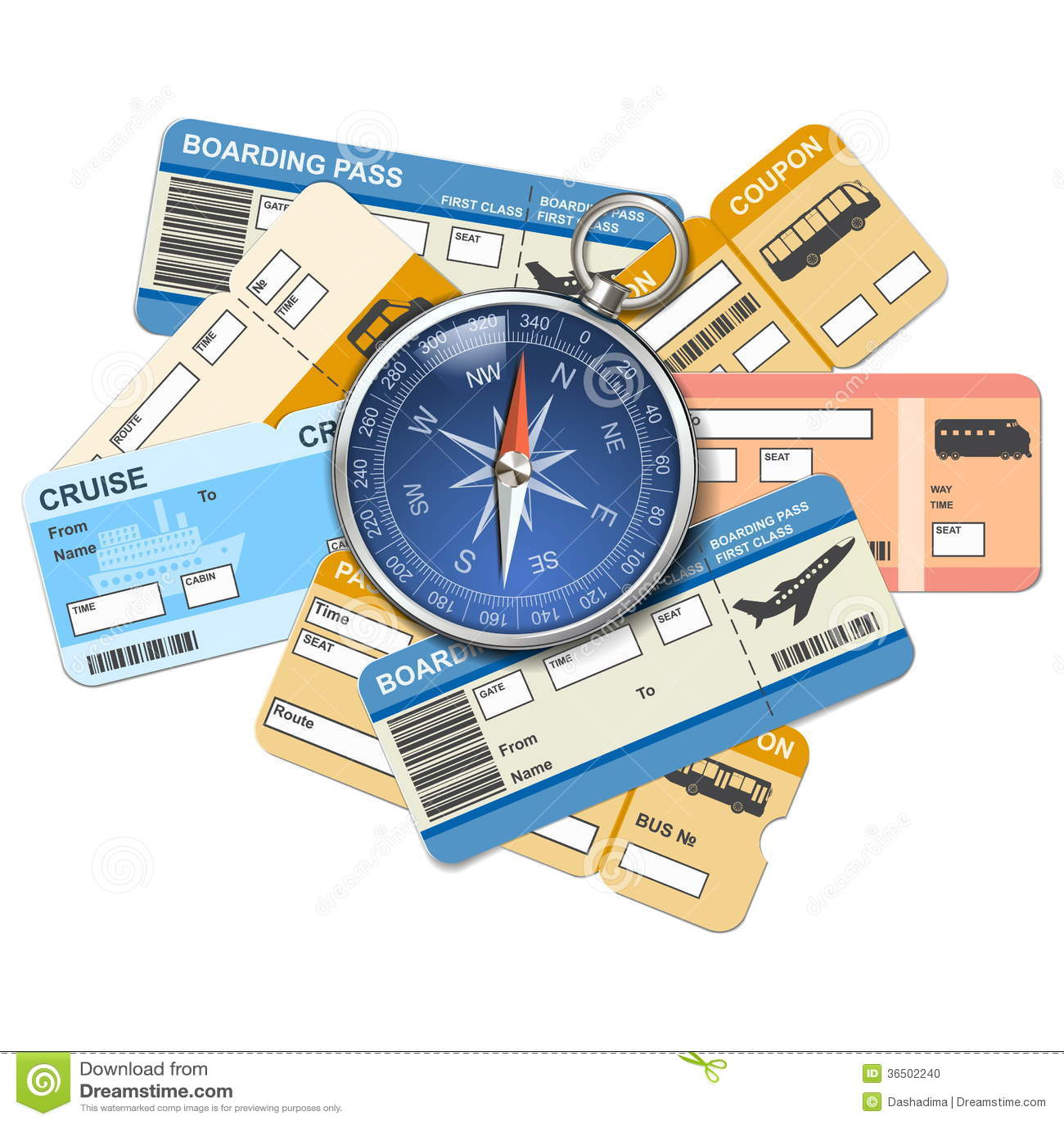 传染媒介指南针和票