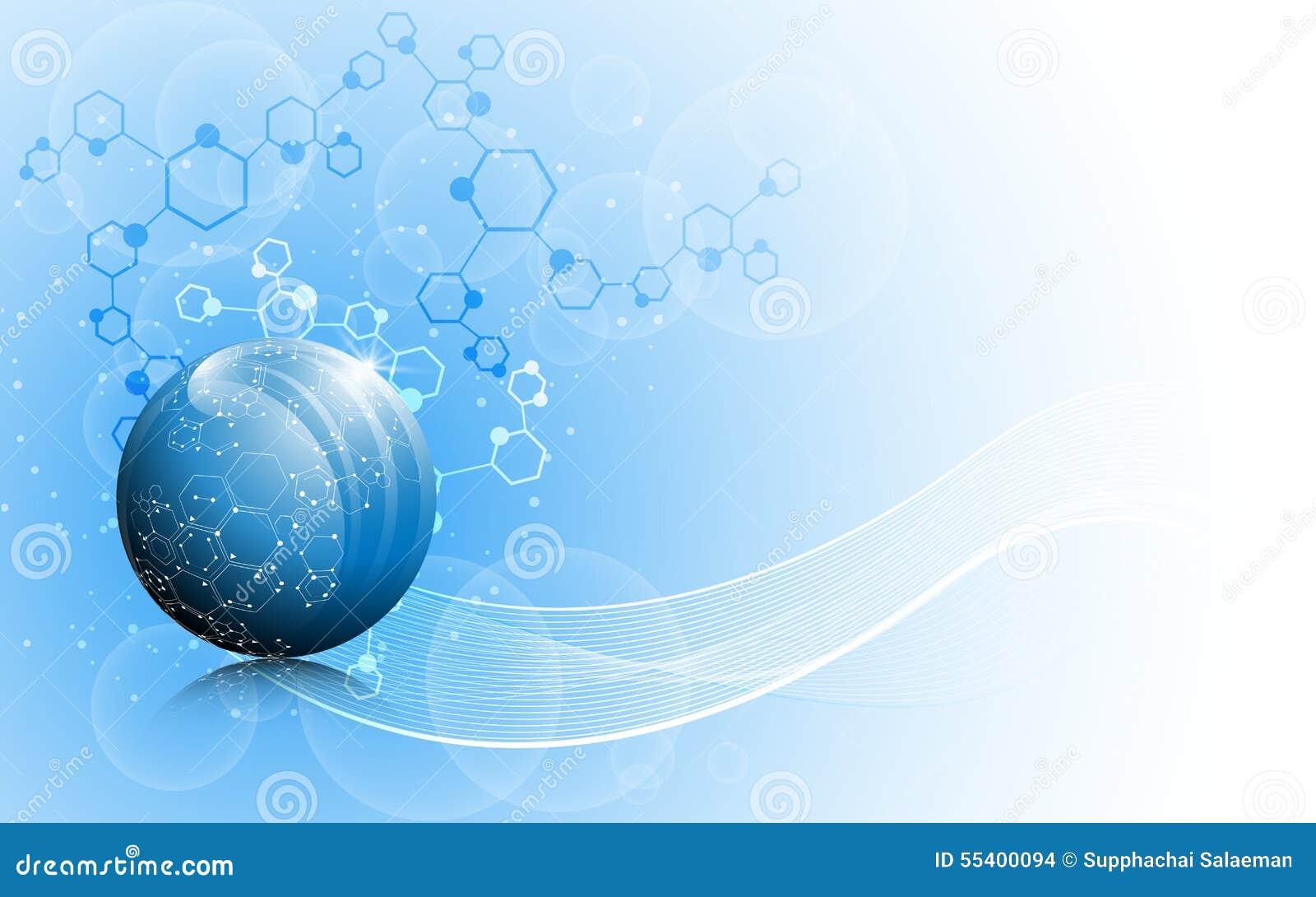 传染媒介科学地球创新概念背景 向量例证 - 图片: 图片