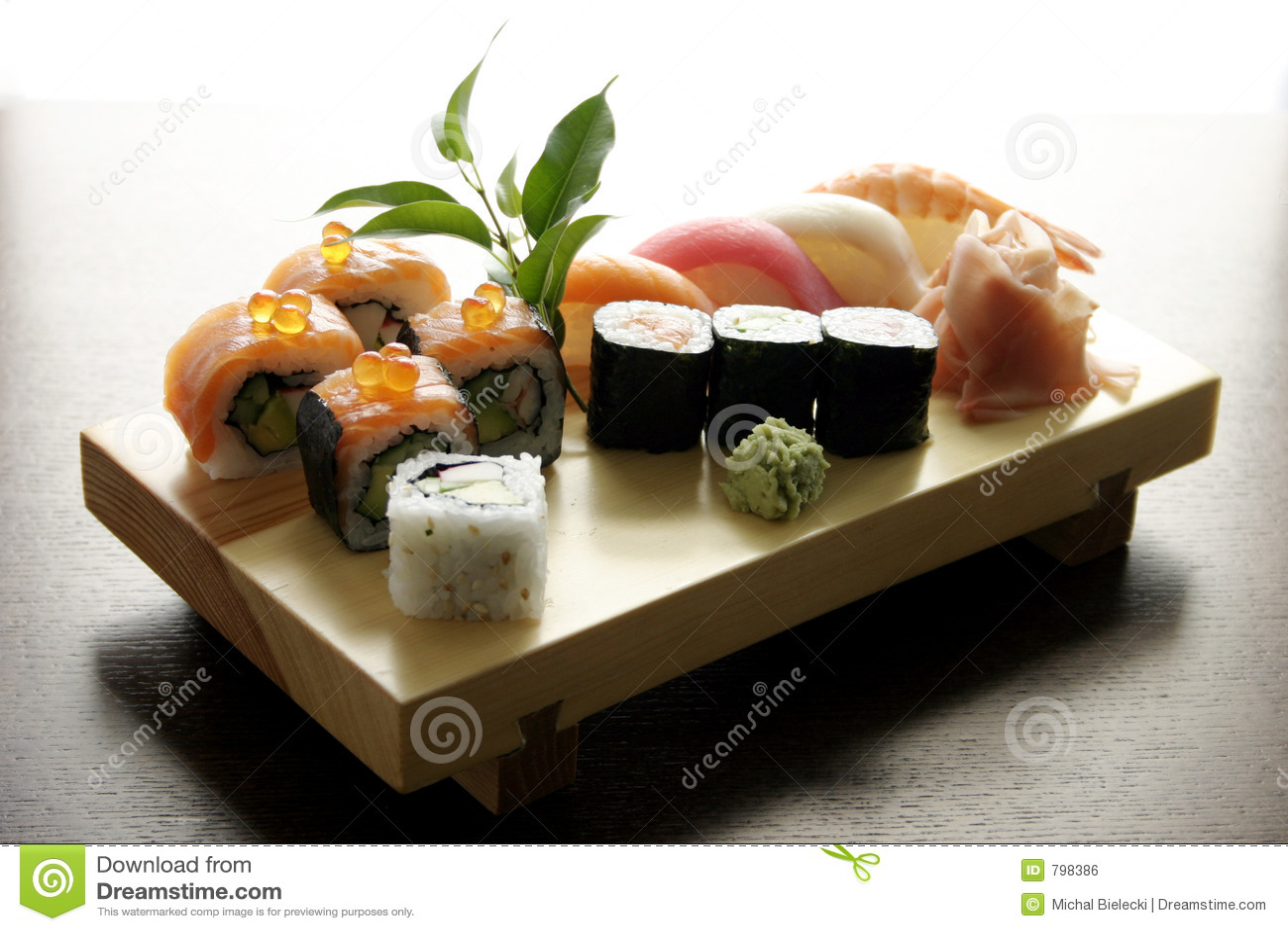 传统食物日本的寿司