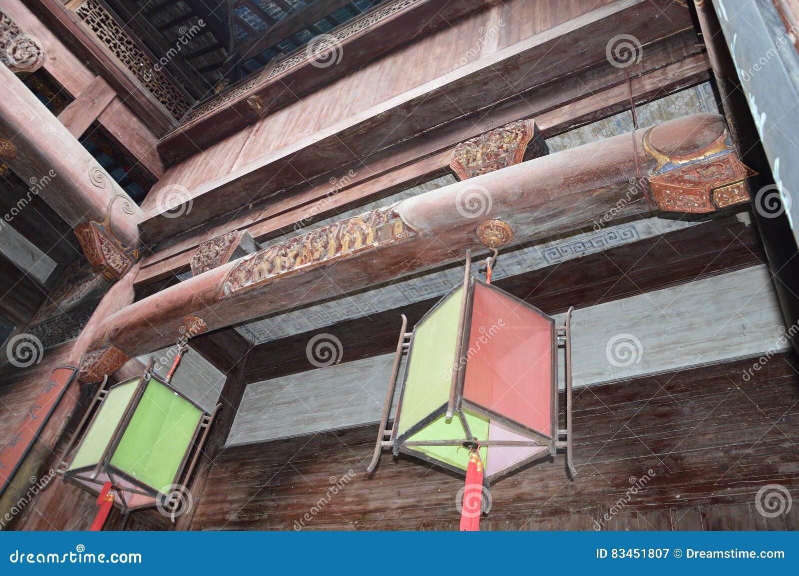 传统中国的灯笼