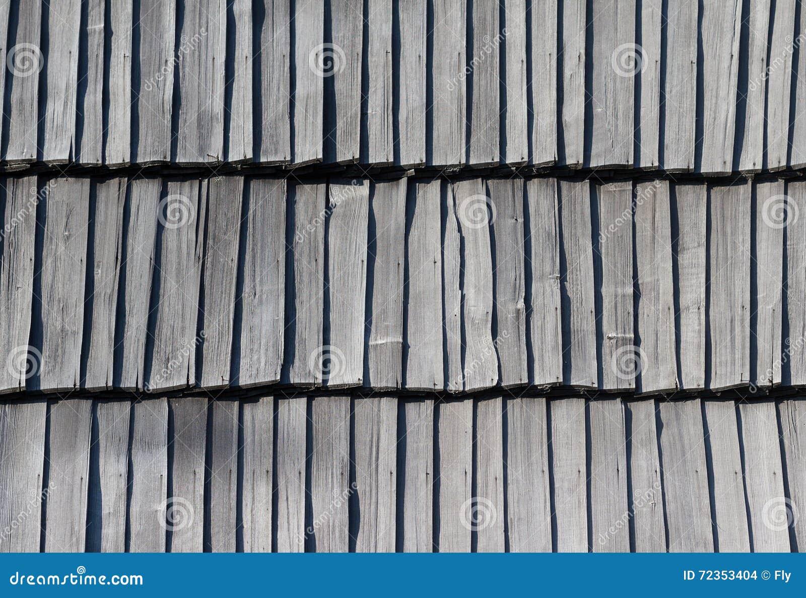 传统屋顶木头纹理