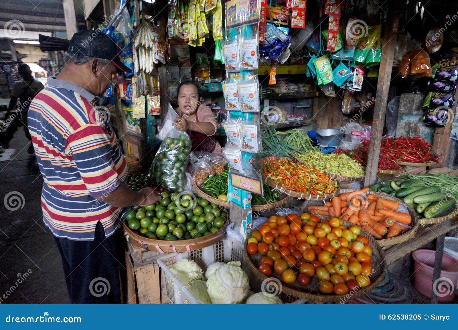 传统的市场