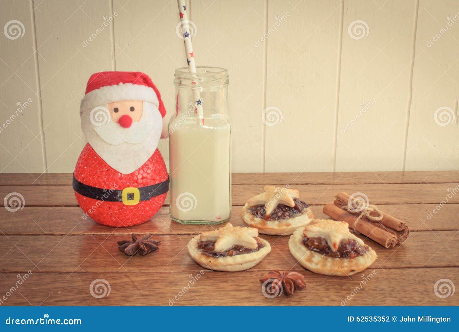 传统自创肉馅饼和牛奶