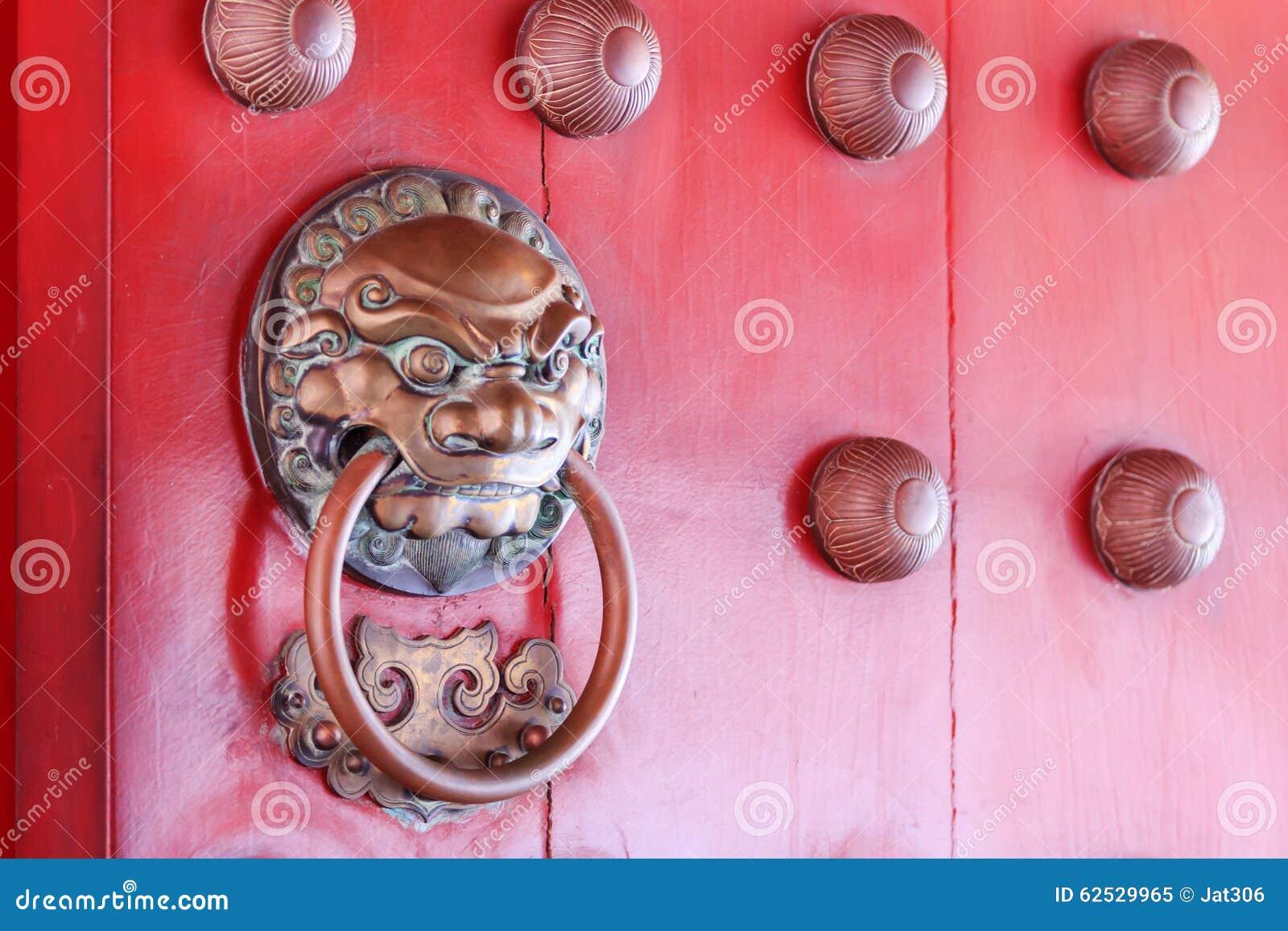 传统门把手