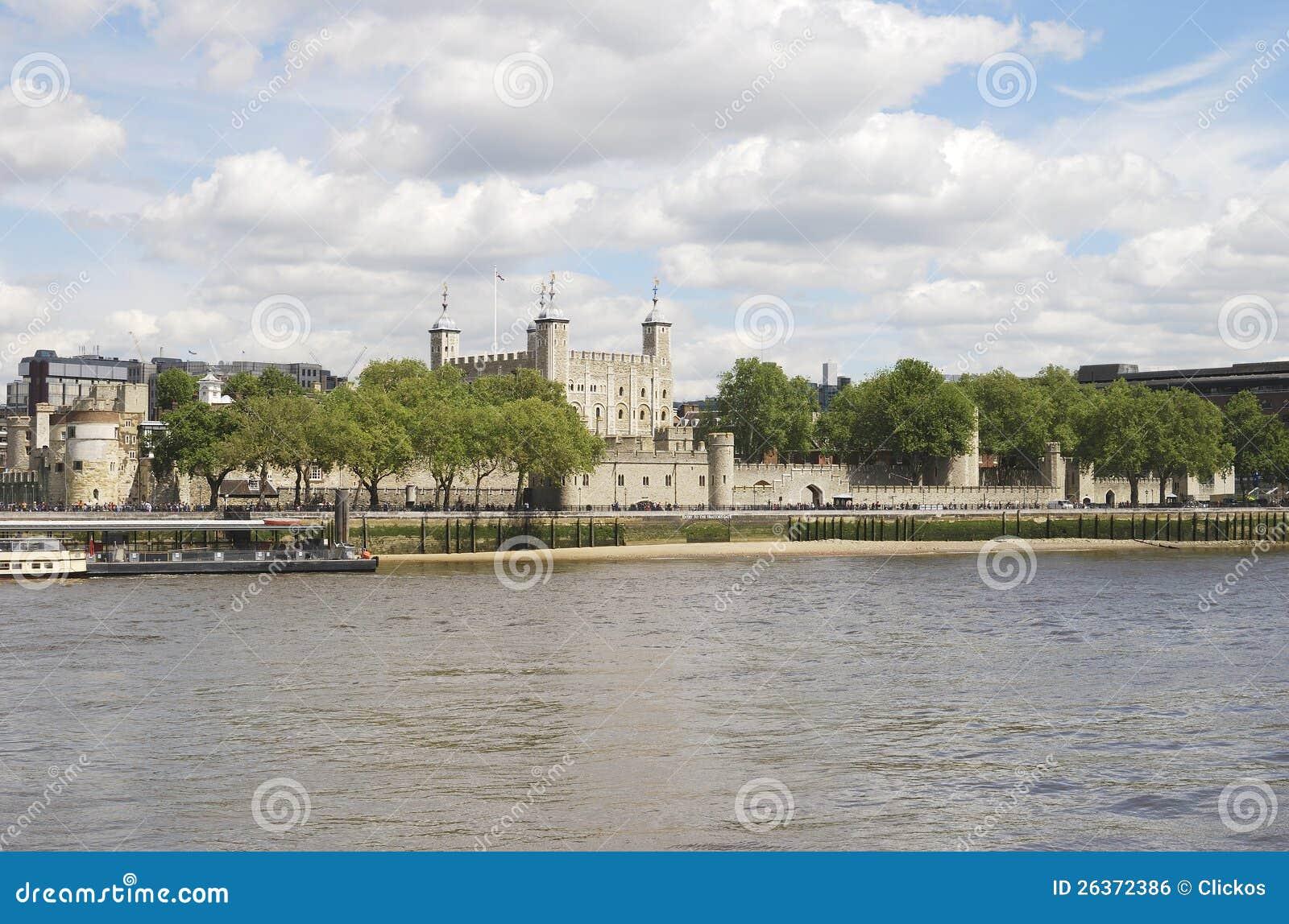 伦敦塔。 英国