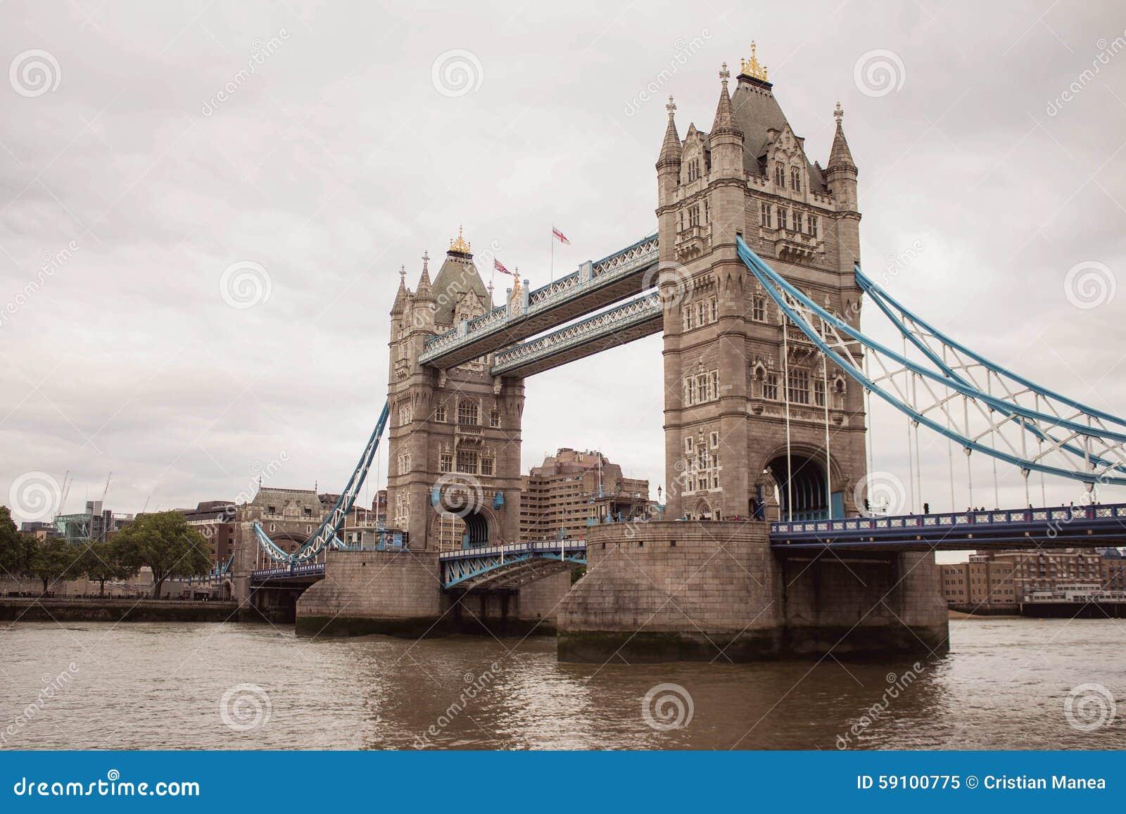 伦敦塔桥梁