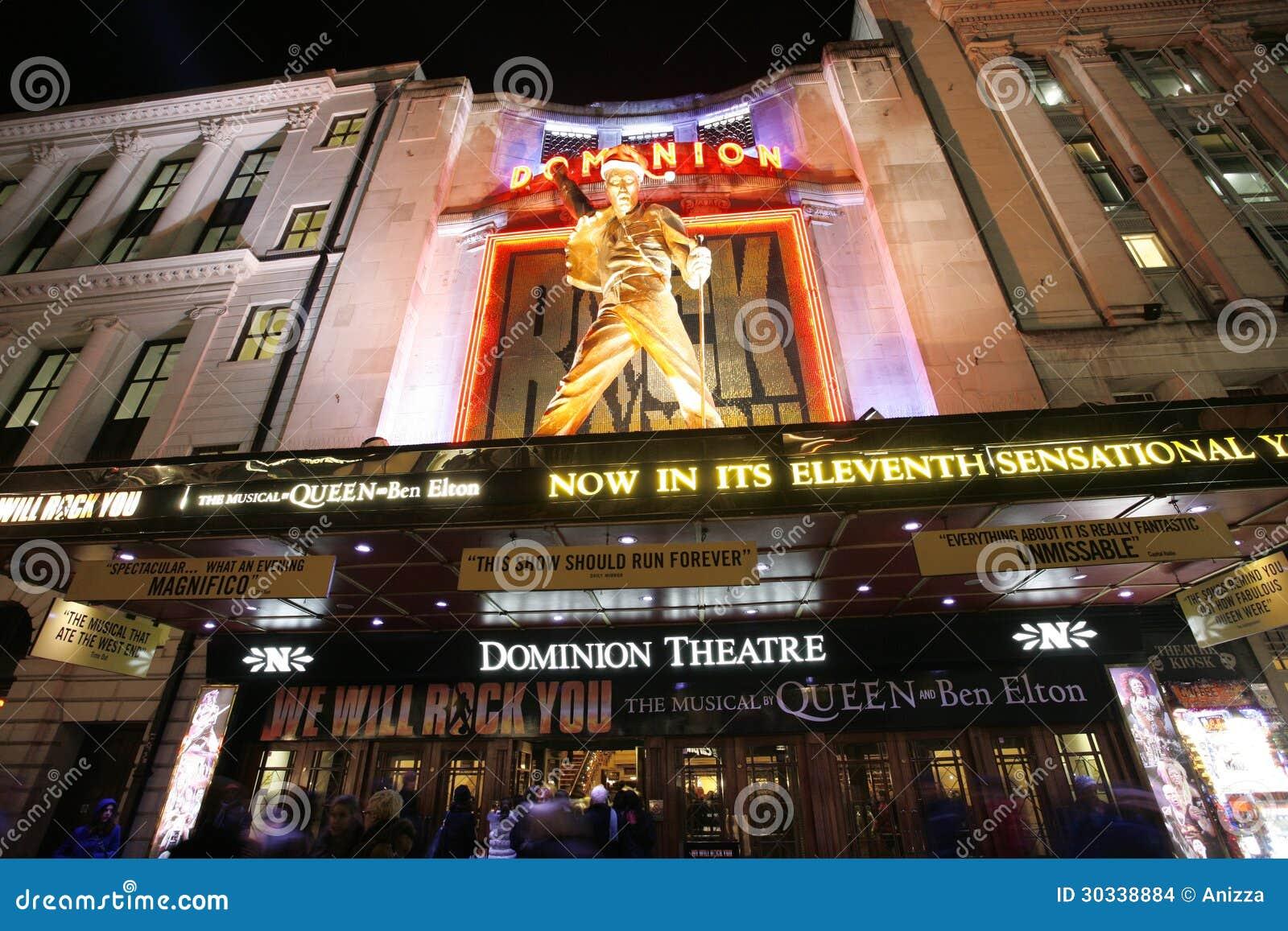 伦敦剧院,统治剧院