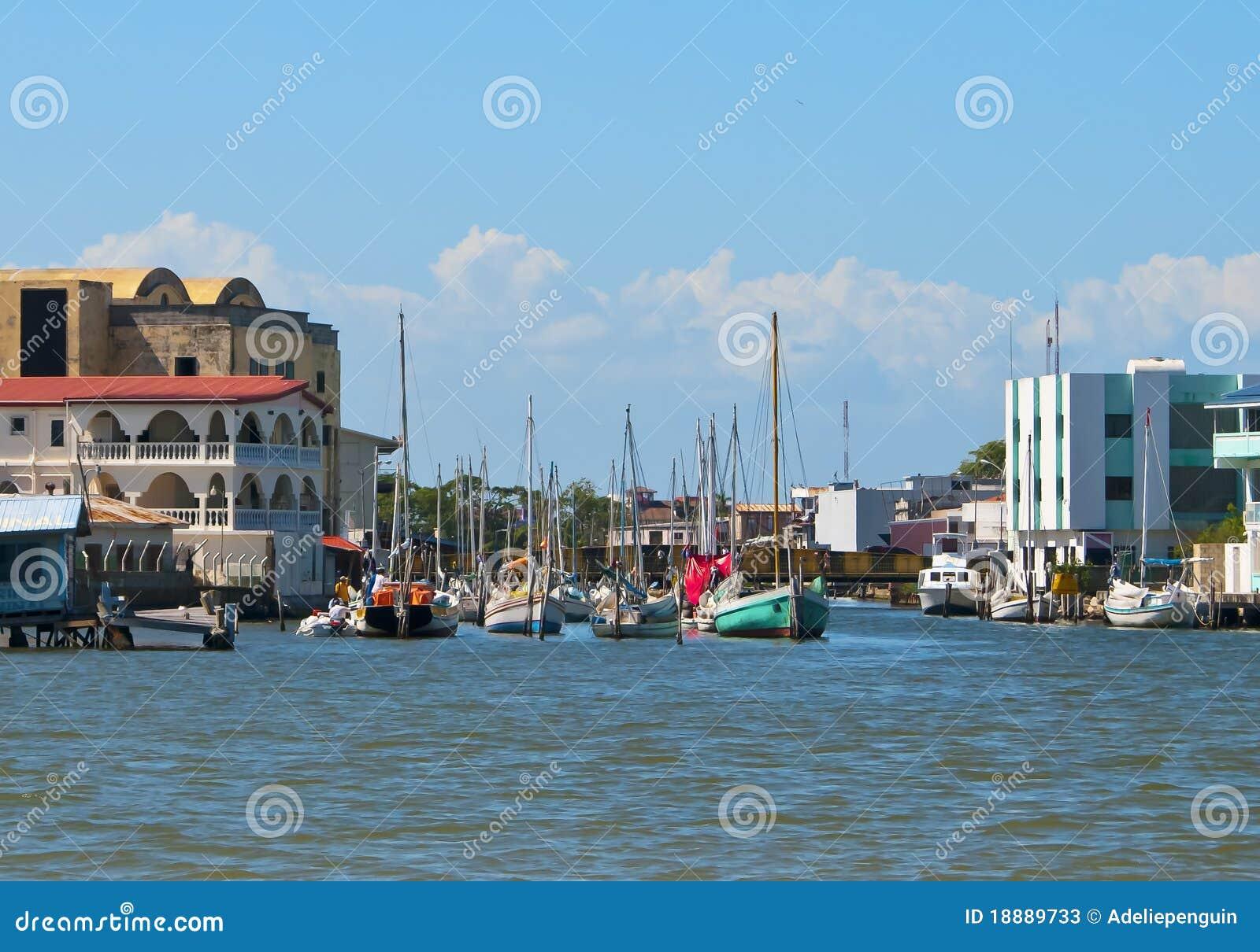 伯利兹市水路