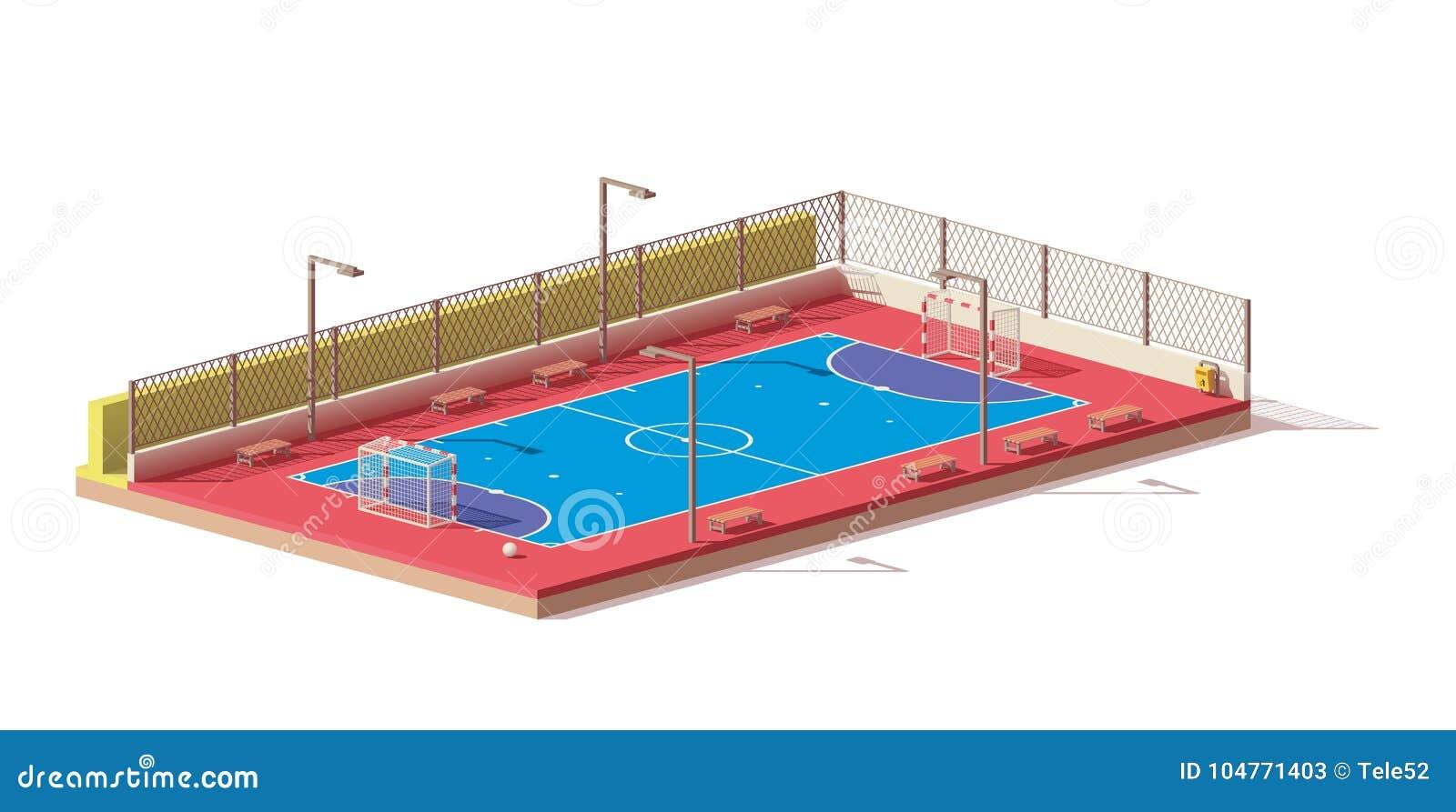 低传染媒介多futsal法院