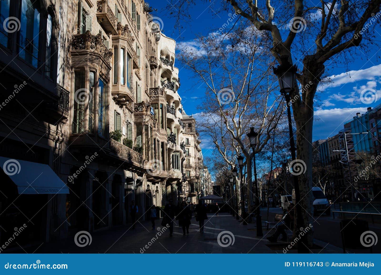 住处Comalat在巴塞罗那西班牙