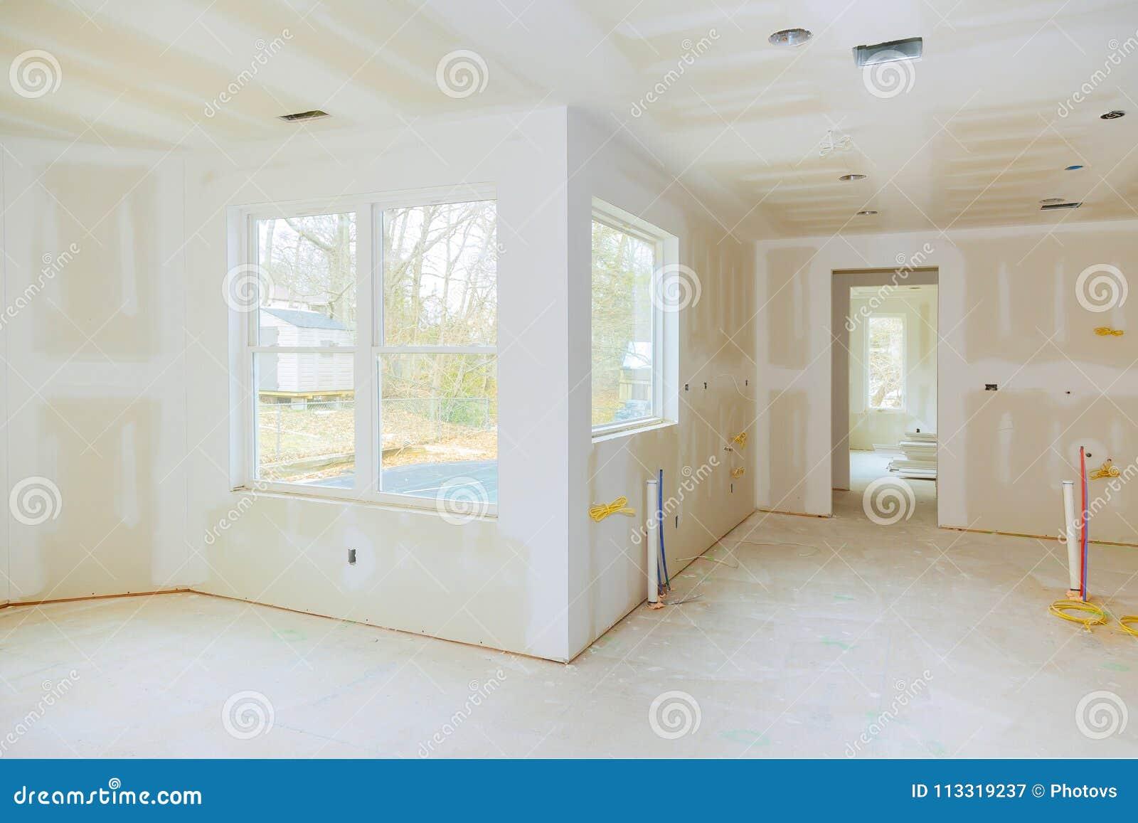 住房建造计划的内部建筑与干式墙的被安装和被修补,不用绘申请