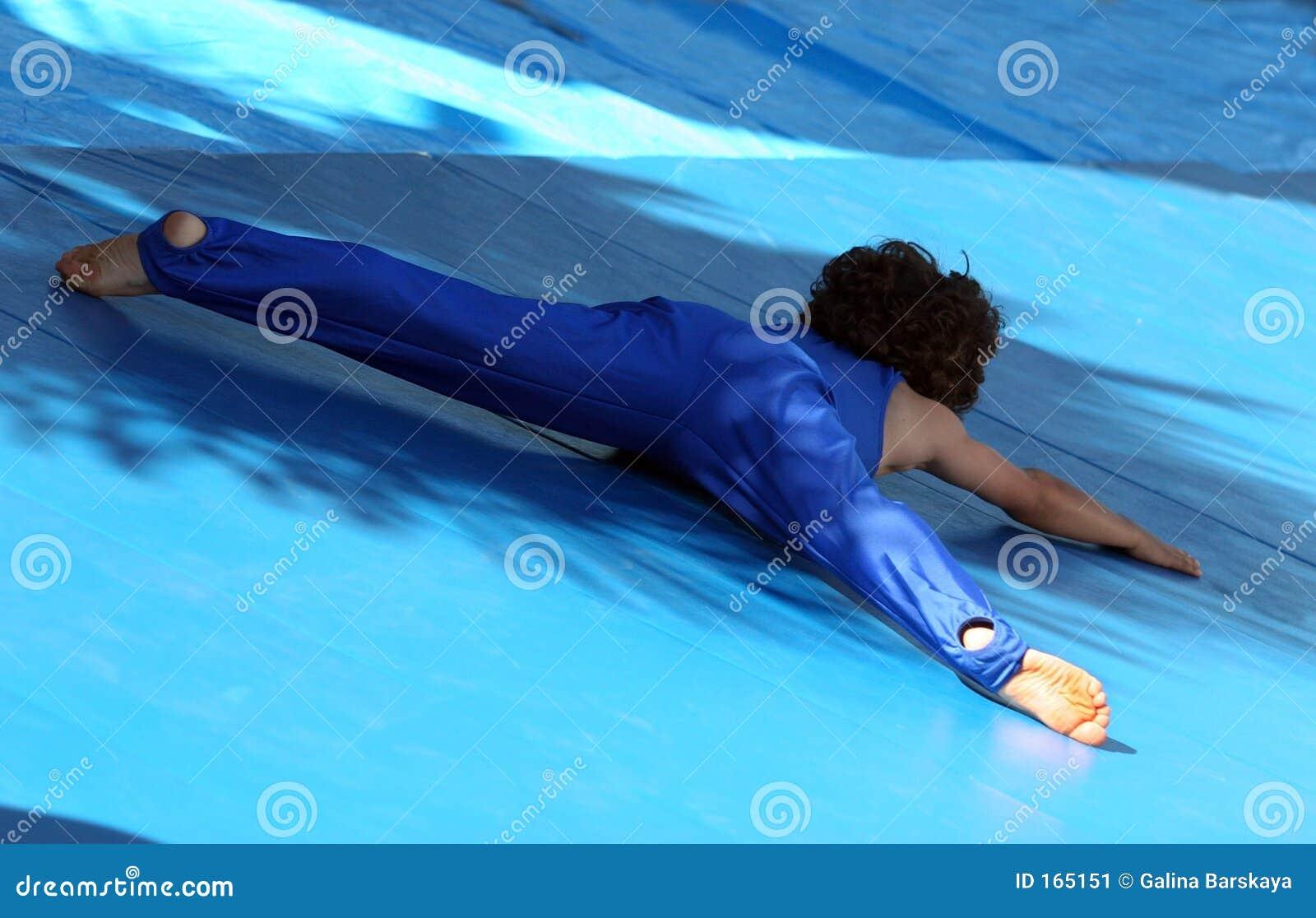 体操运动员一点