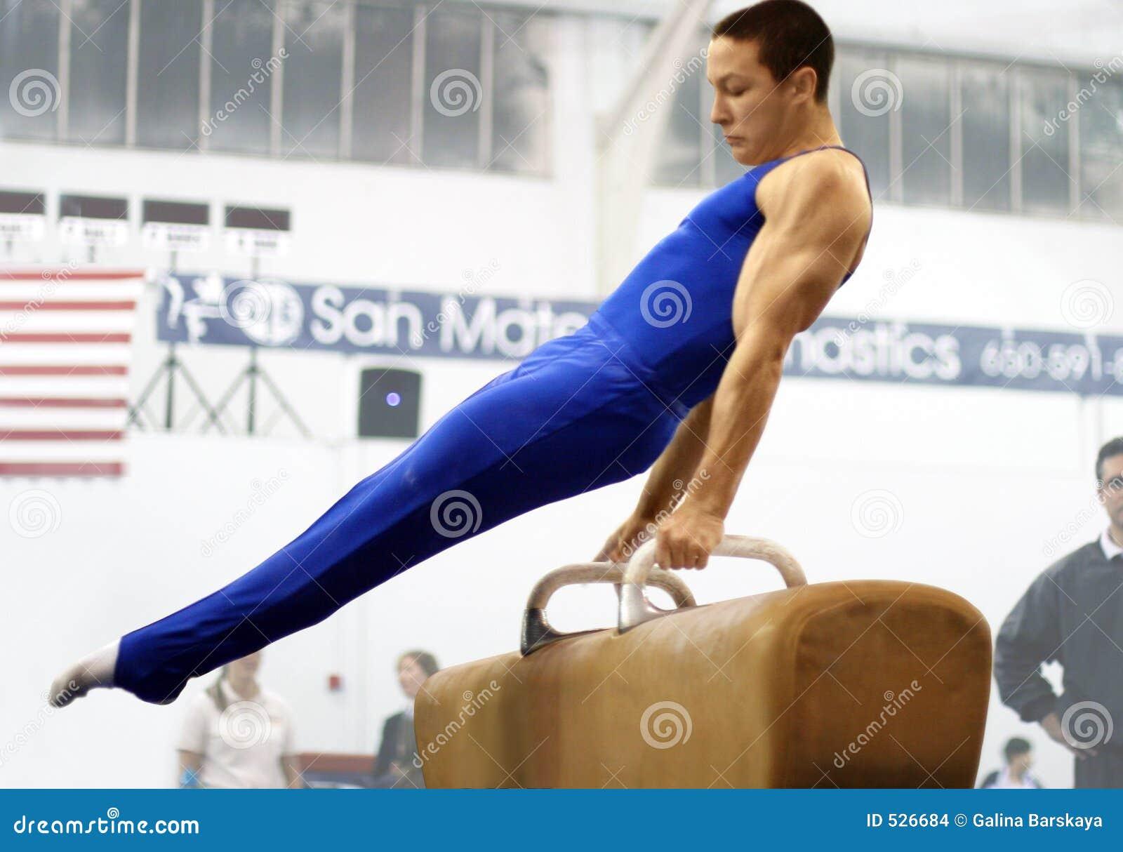 Download 体操运动员鞍头 库存照片. 图片 包括有 体操运动员, 活动家, 冠军, 肌肉, 口角, 力量, 培训, 运动 - 526684