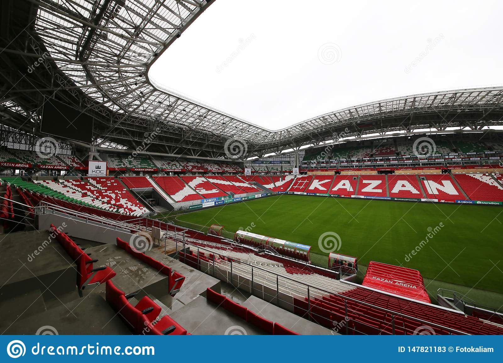 体育场喀山体育场,将是2018年世界杯的举行的足球赛