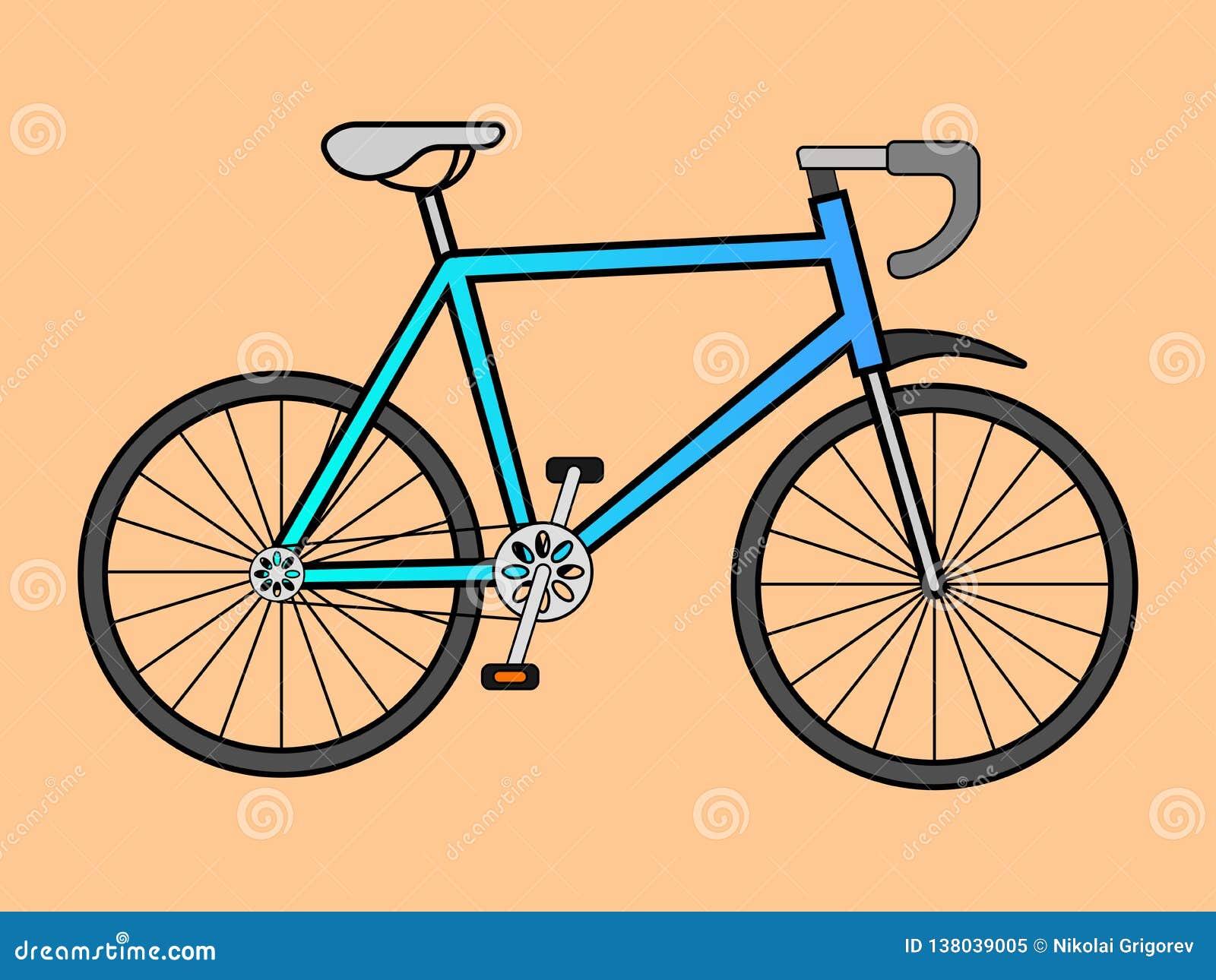 体育的传染媒介例证骑自行车
