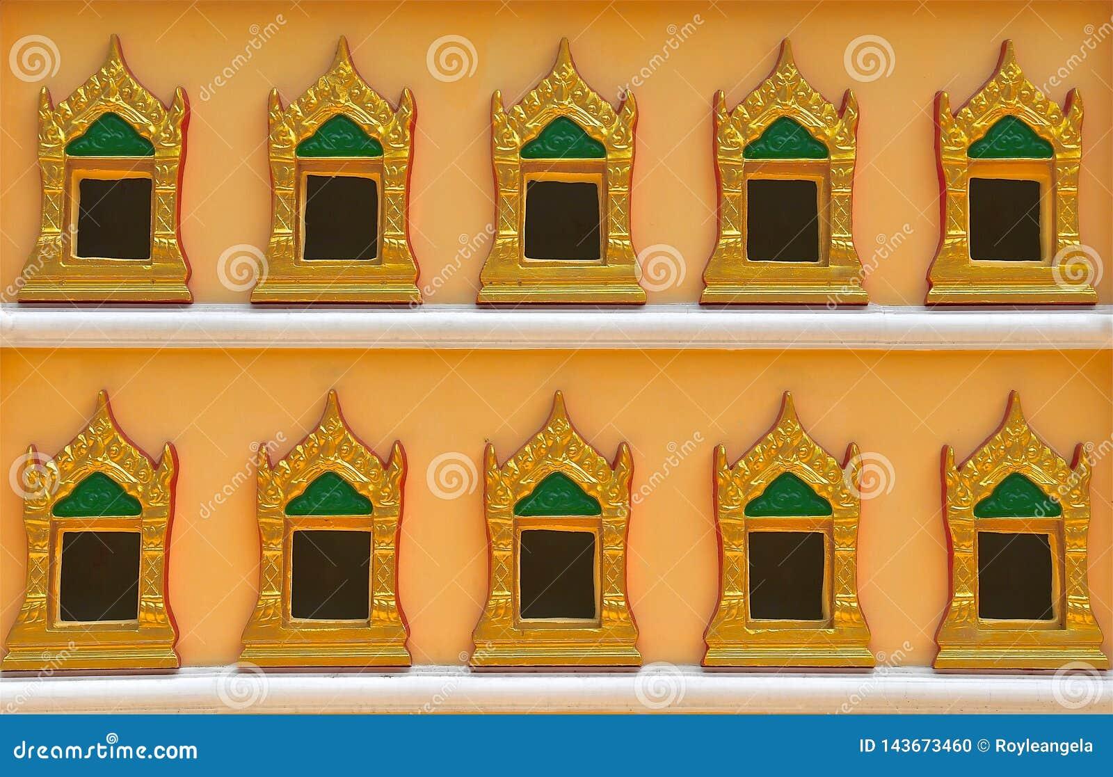 佛教小箱墙壁