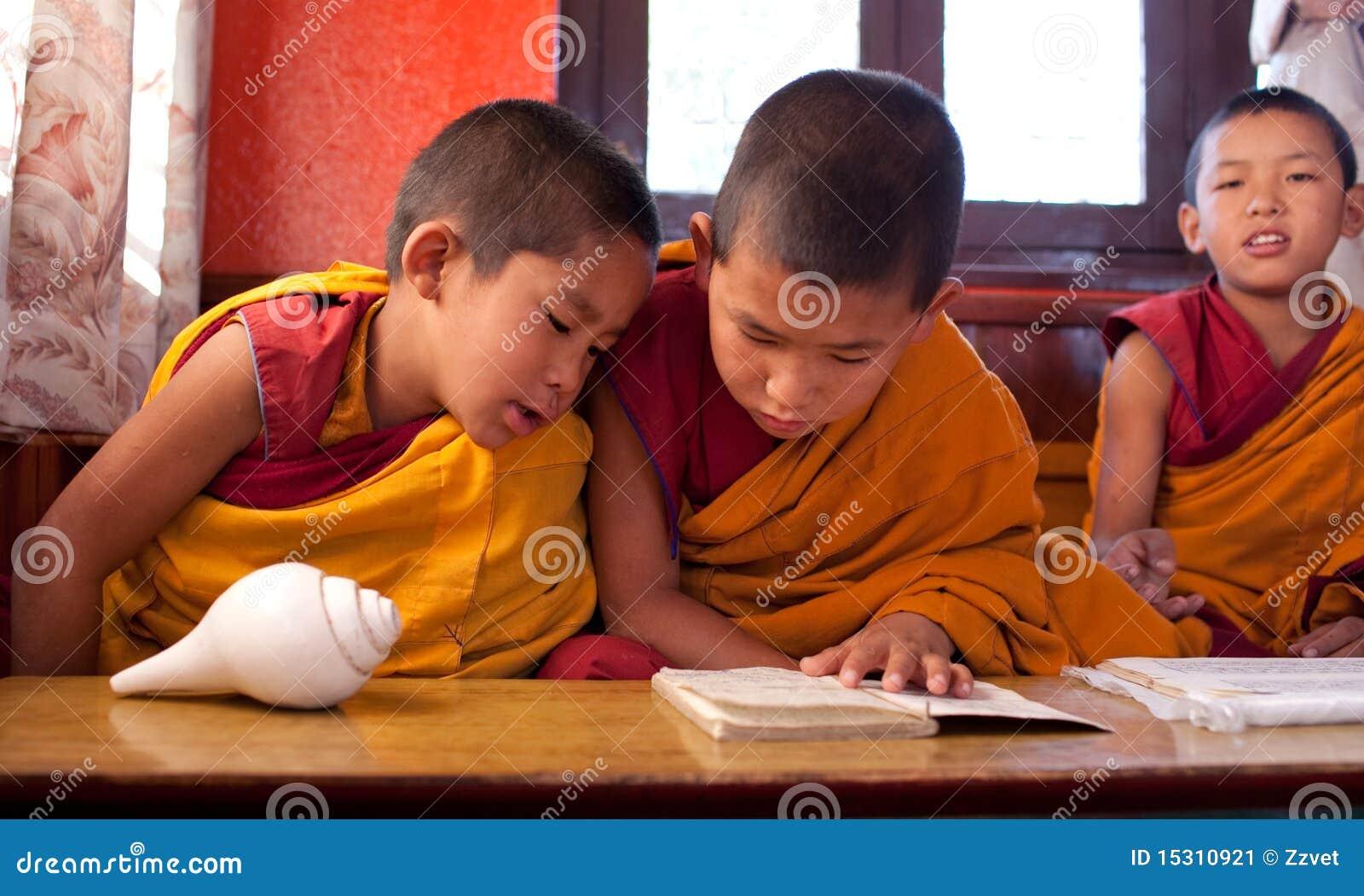 佛教矮小的修士二