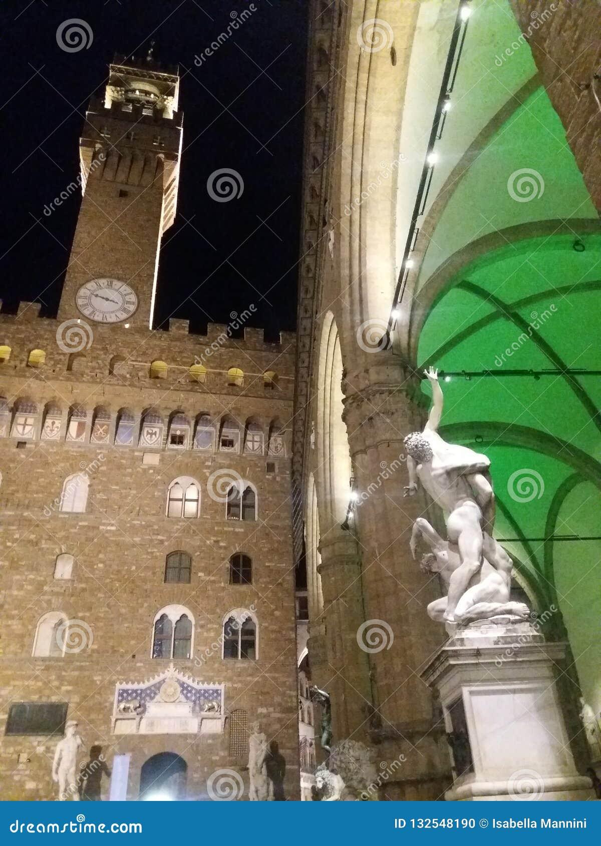 佛罗伦萨晚上