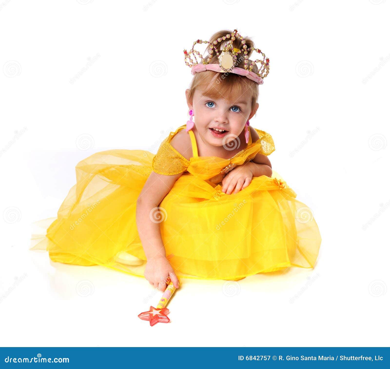 作为加工好的女孩小公主