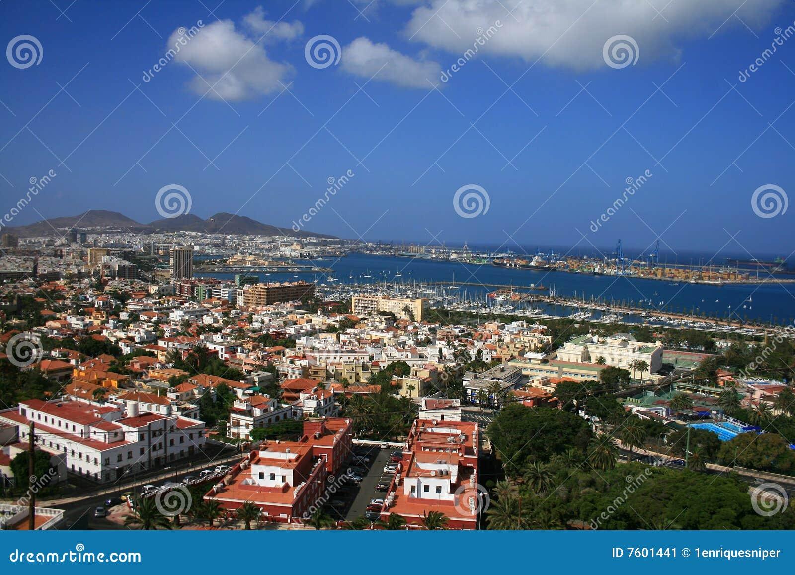 作为canaria city de gran港口palmas