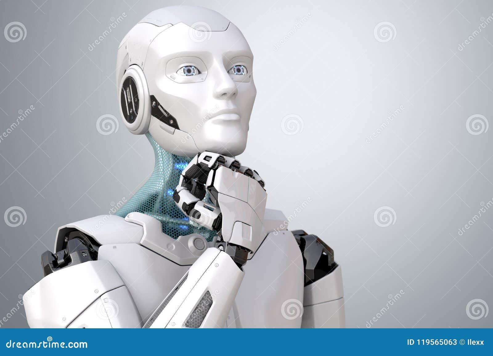 作科学幻想小说机器人