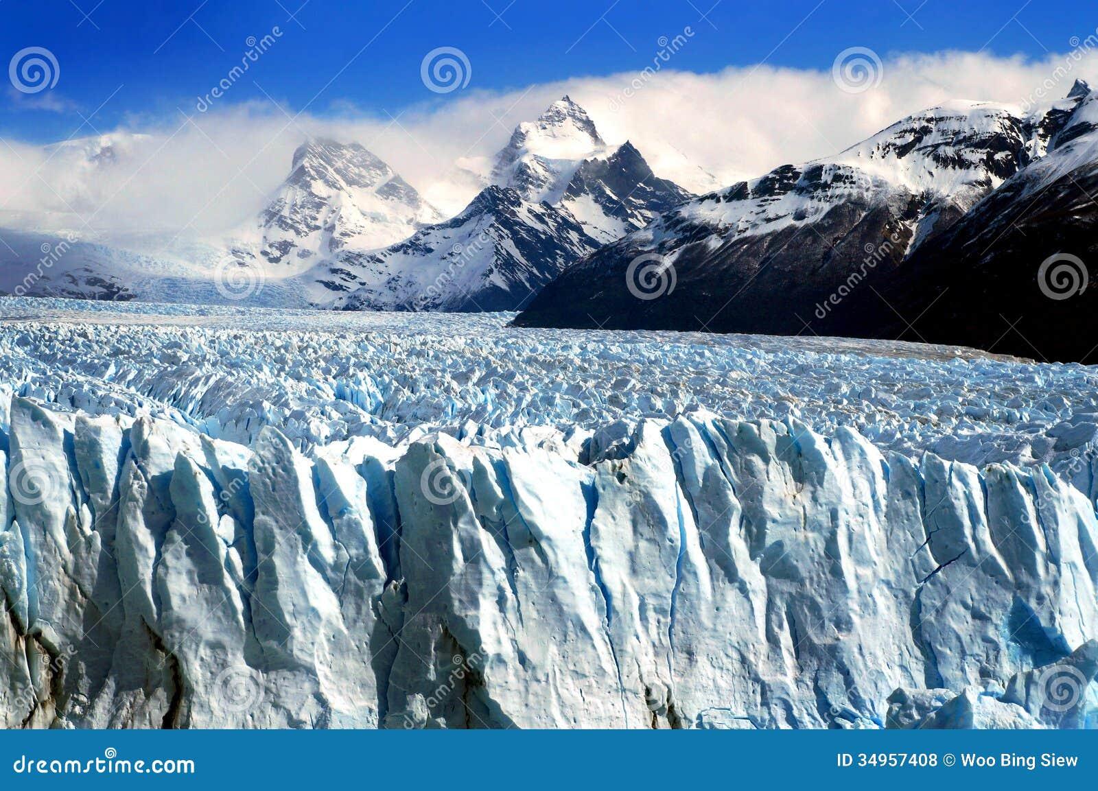 佩里托莫雷诺冰川