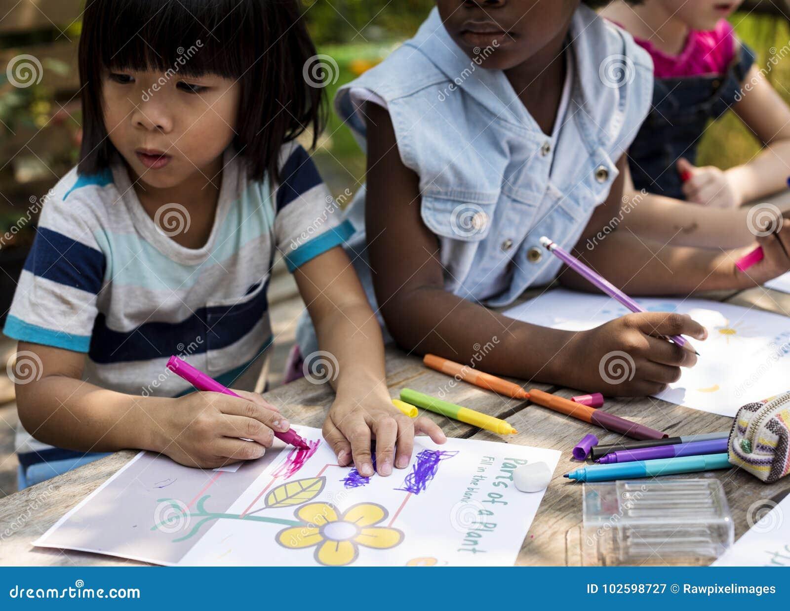 使一致儿童的艺术