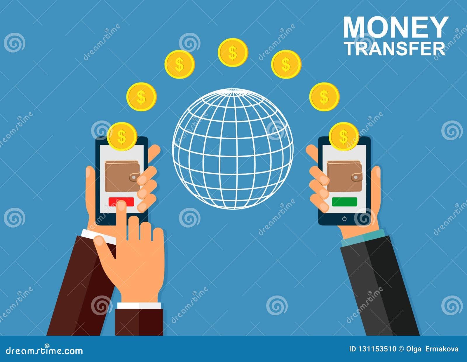 使用移动设备,有银行业务付款的app巧妙的电话的汇款 网上银行,不接触的付款,财政transac