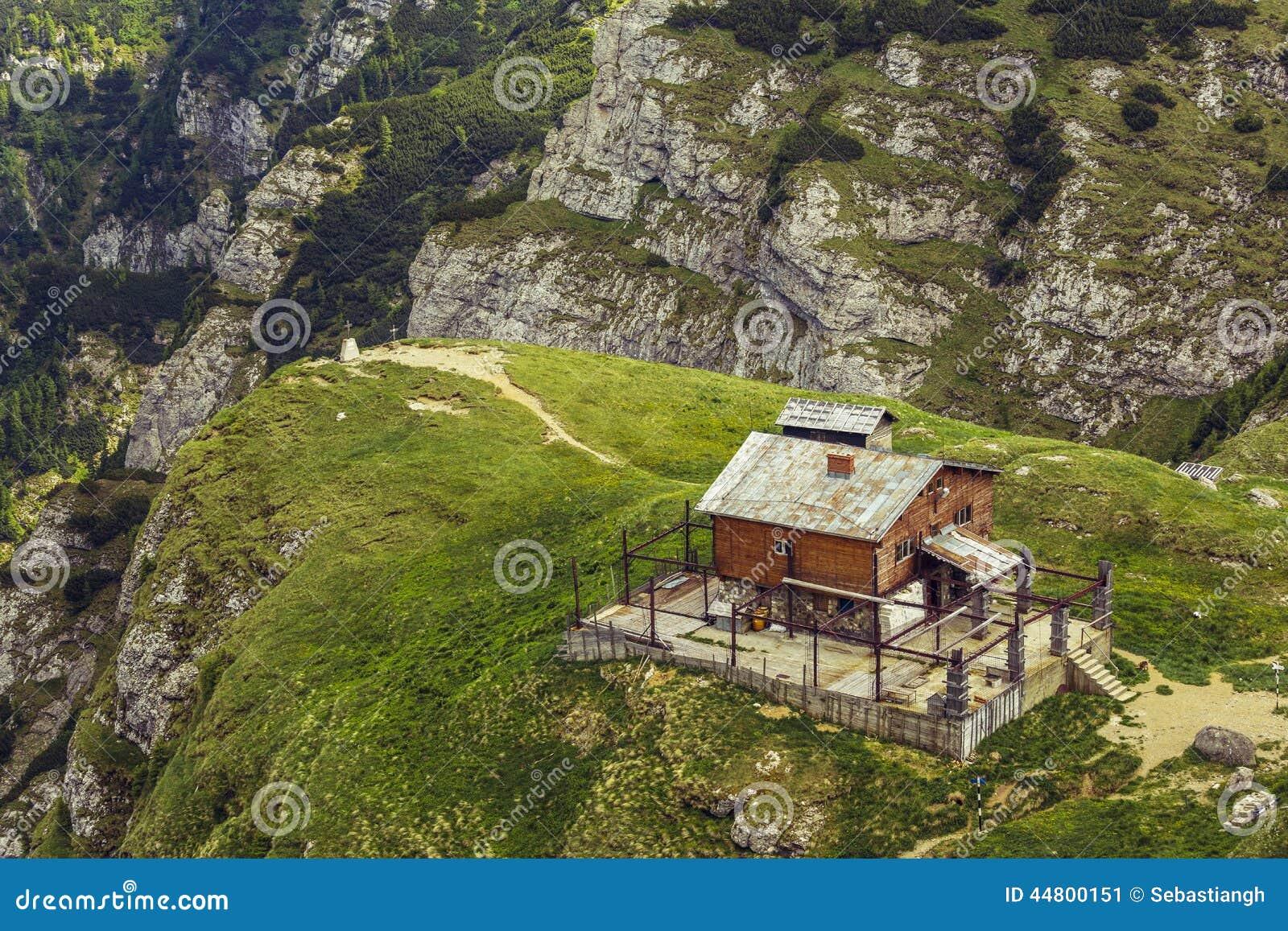 使被放弃的木山避难所荒凉