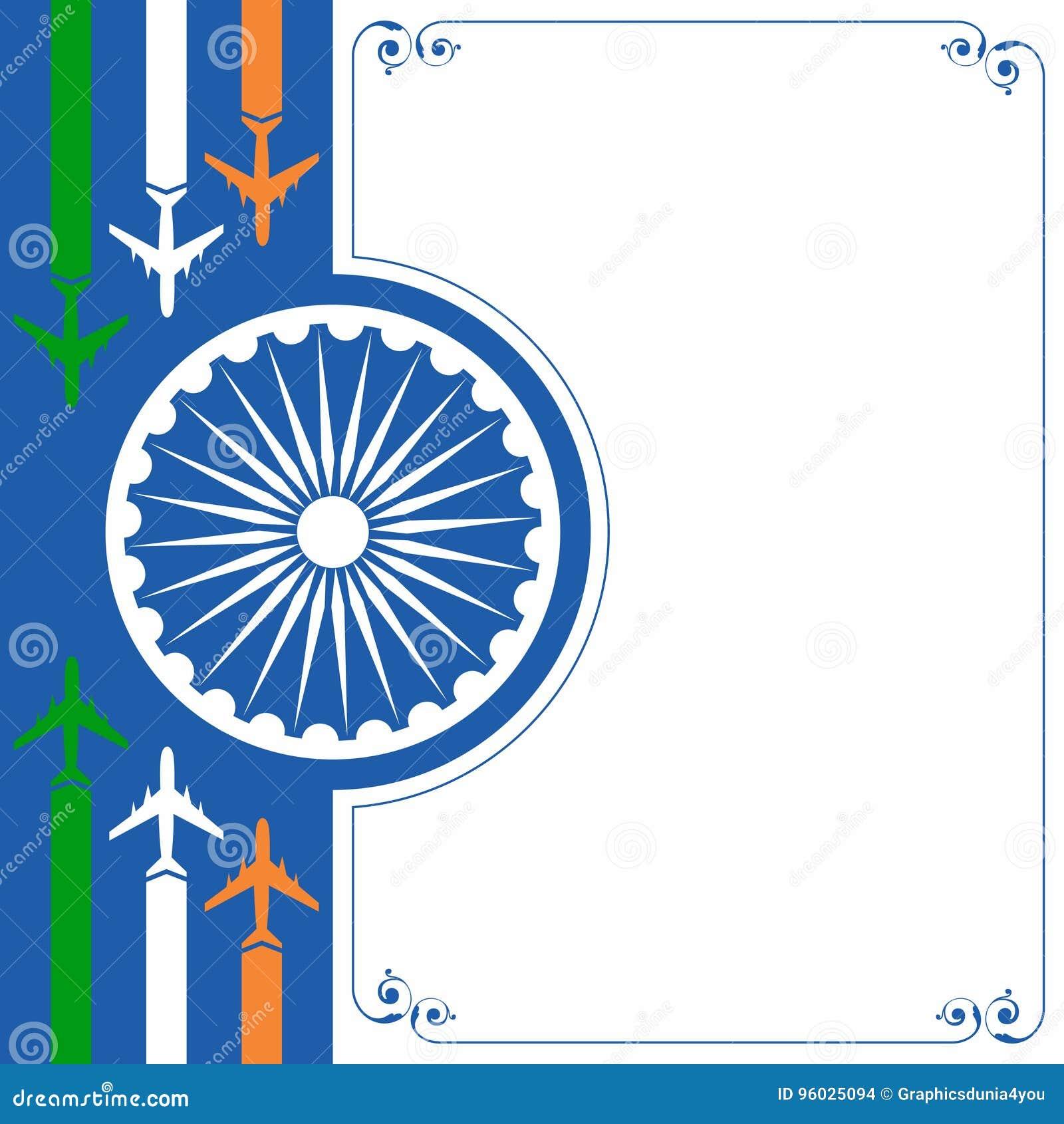 例证为印度的独立日