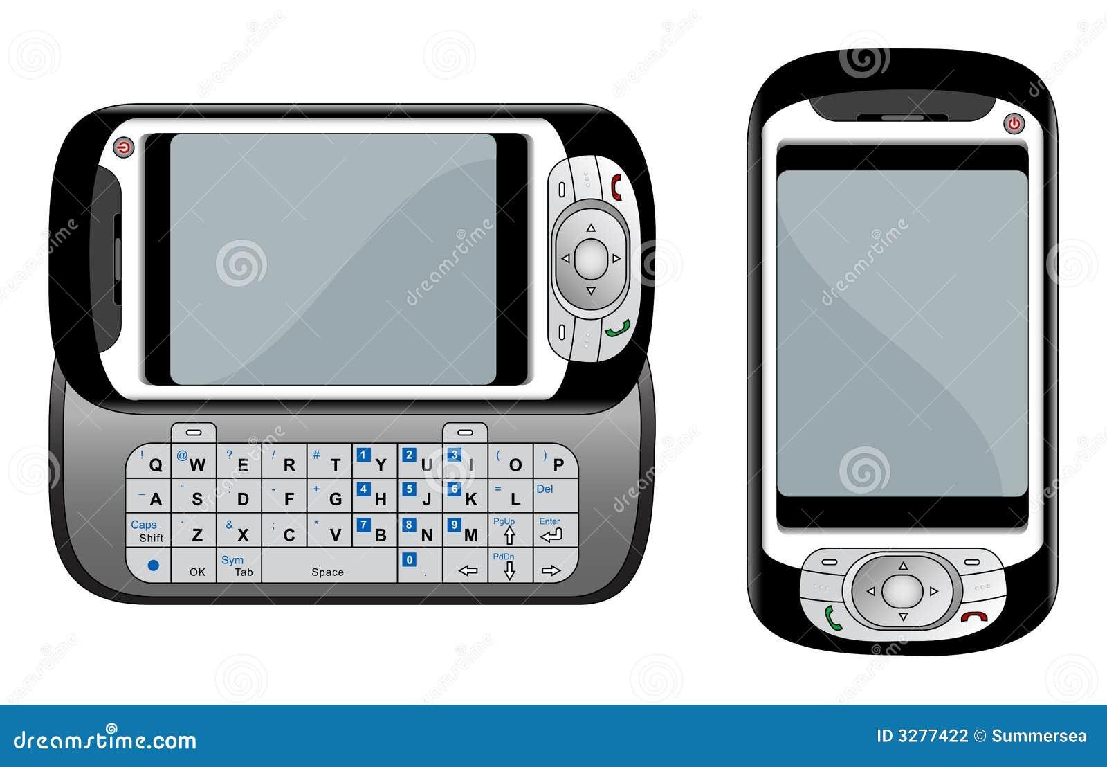 例证pda电话向量