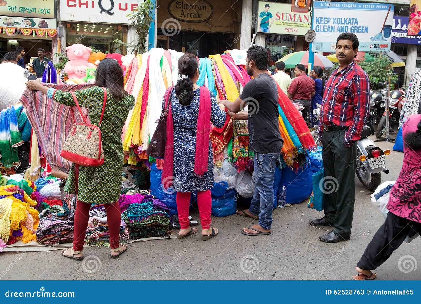 供营商在加尔各答,印度