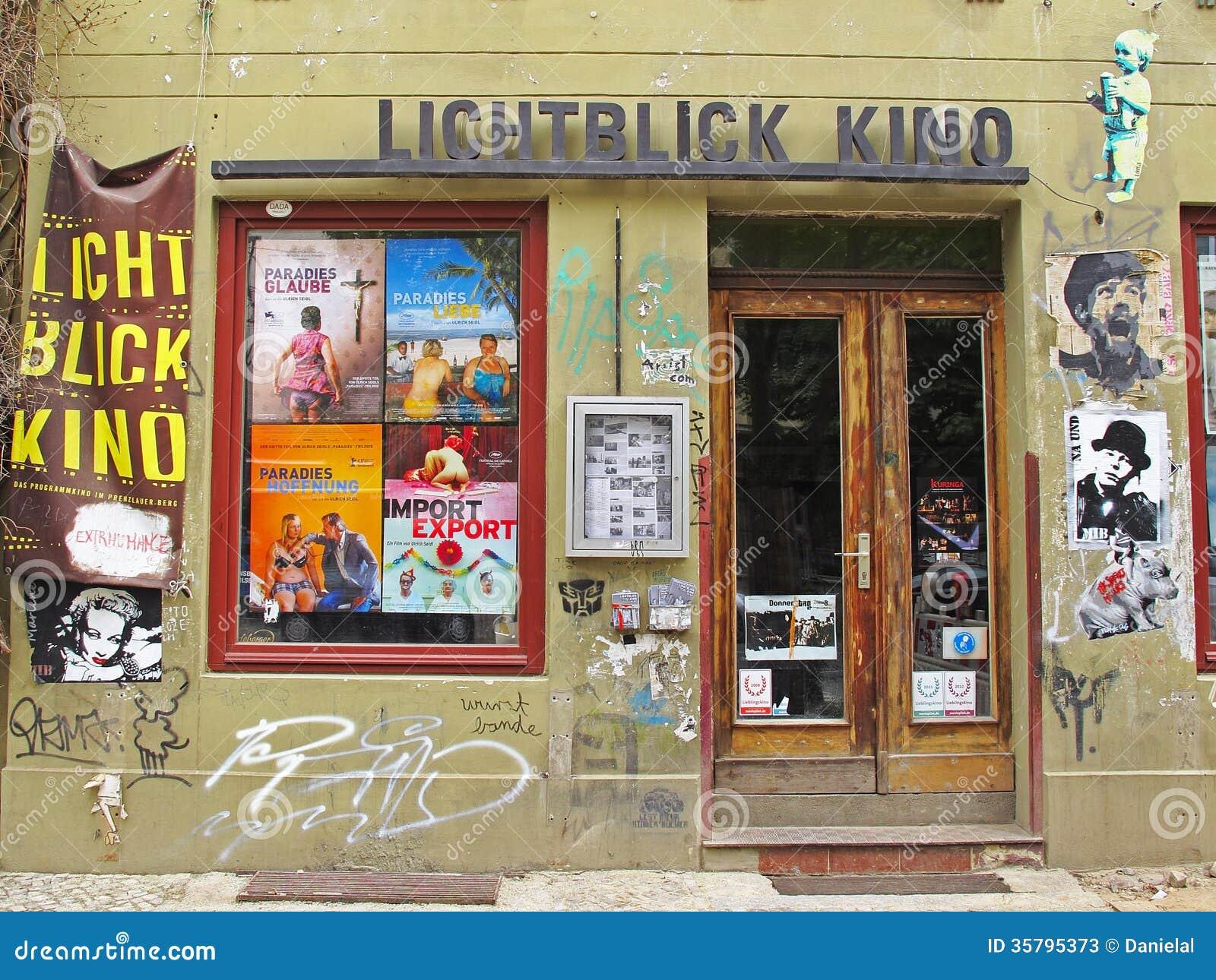 供选择的戏院在柏林