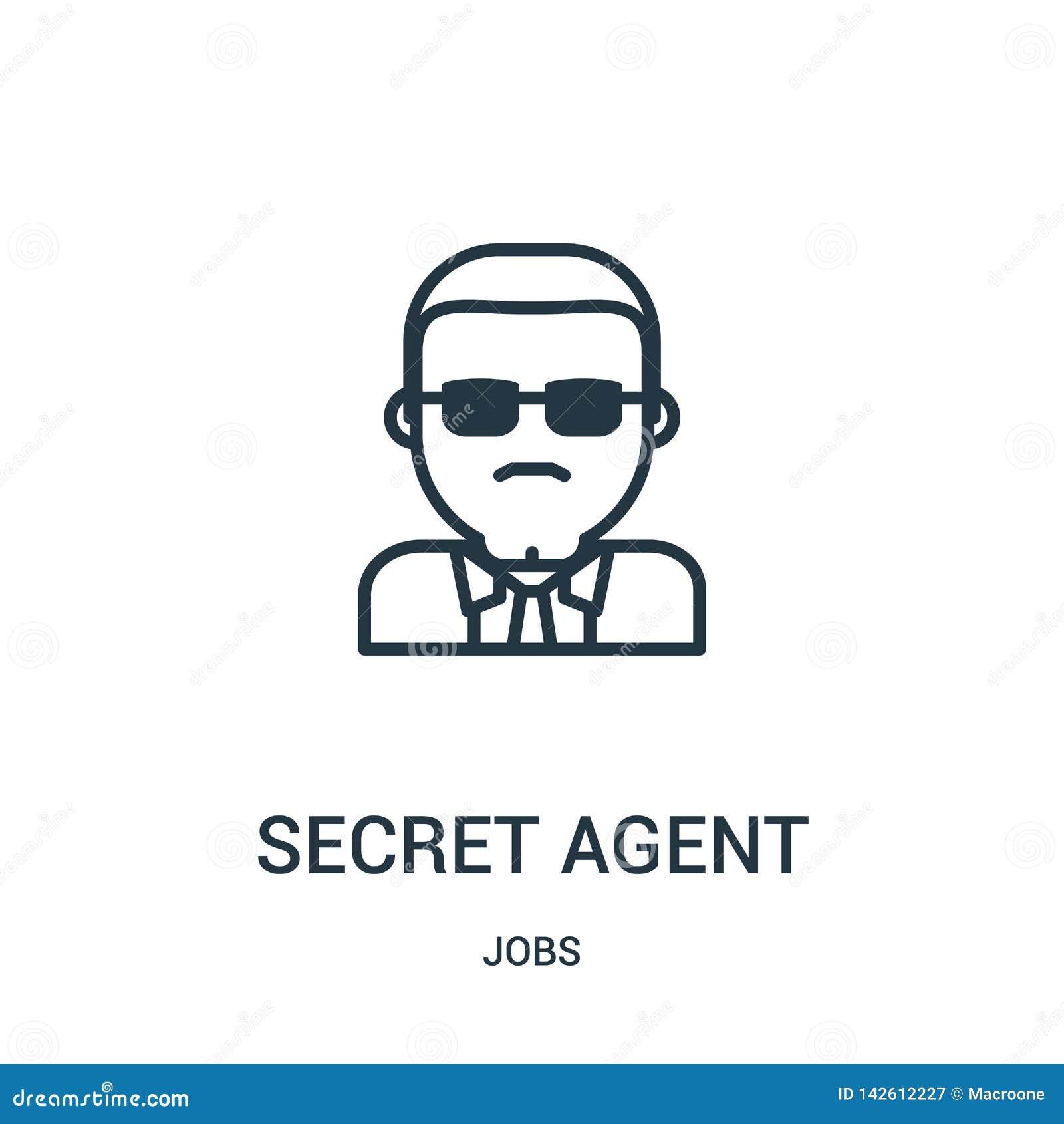 侦探从工作汇集的象传染媒介 稀薄的线侦探概述象传染媒介例证 r