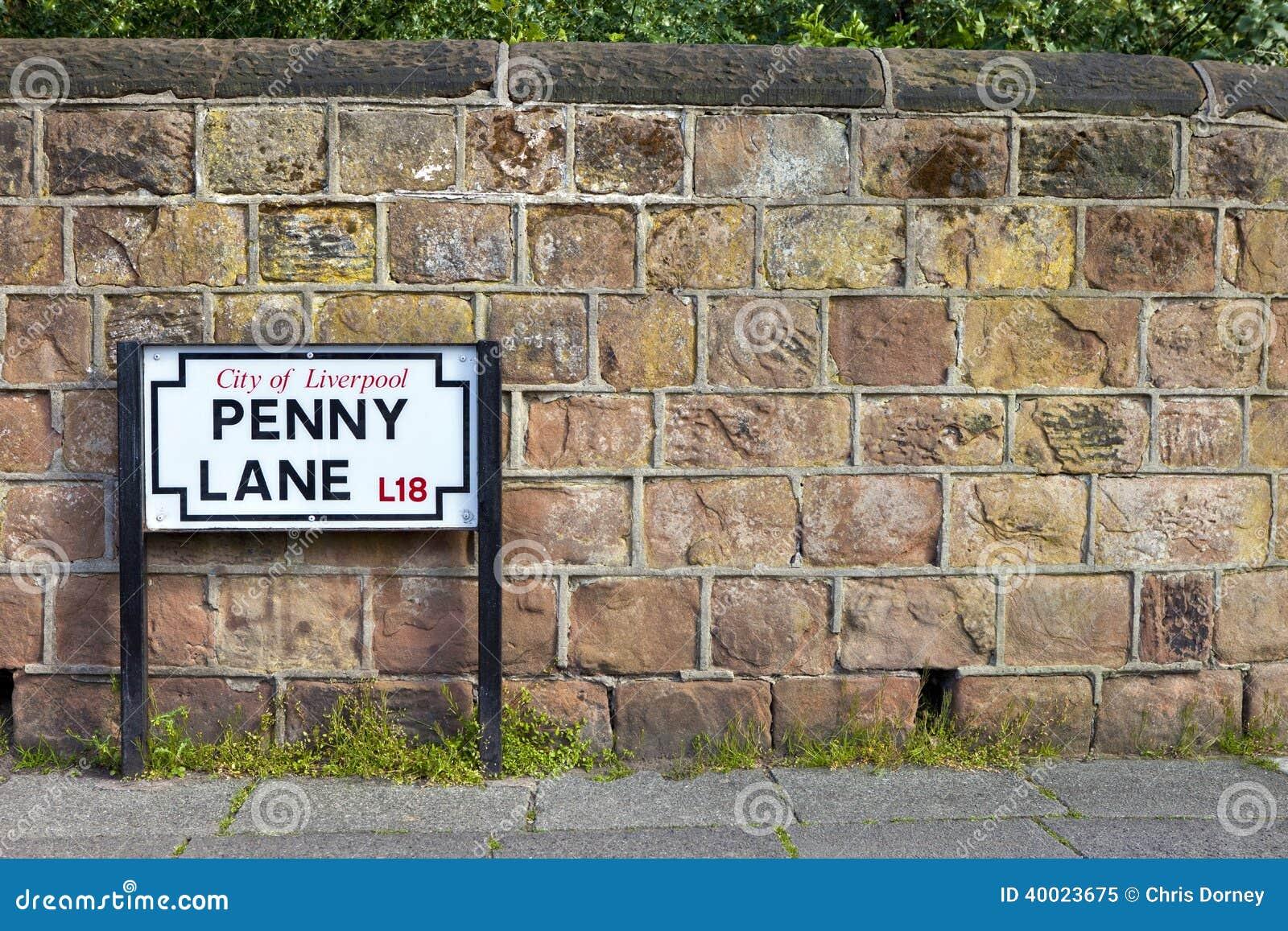 便士车道在利物浦