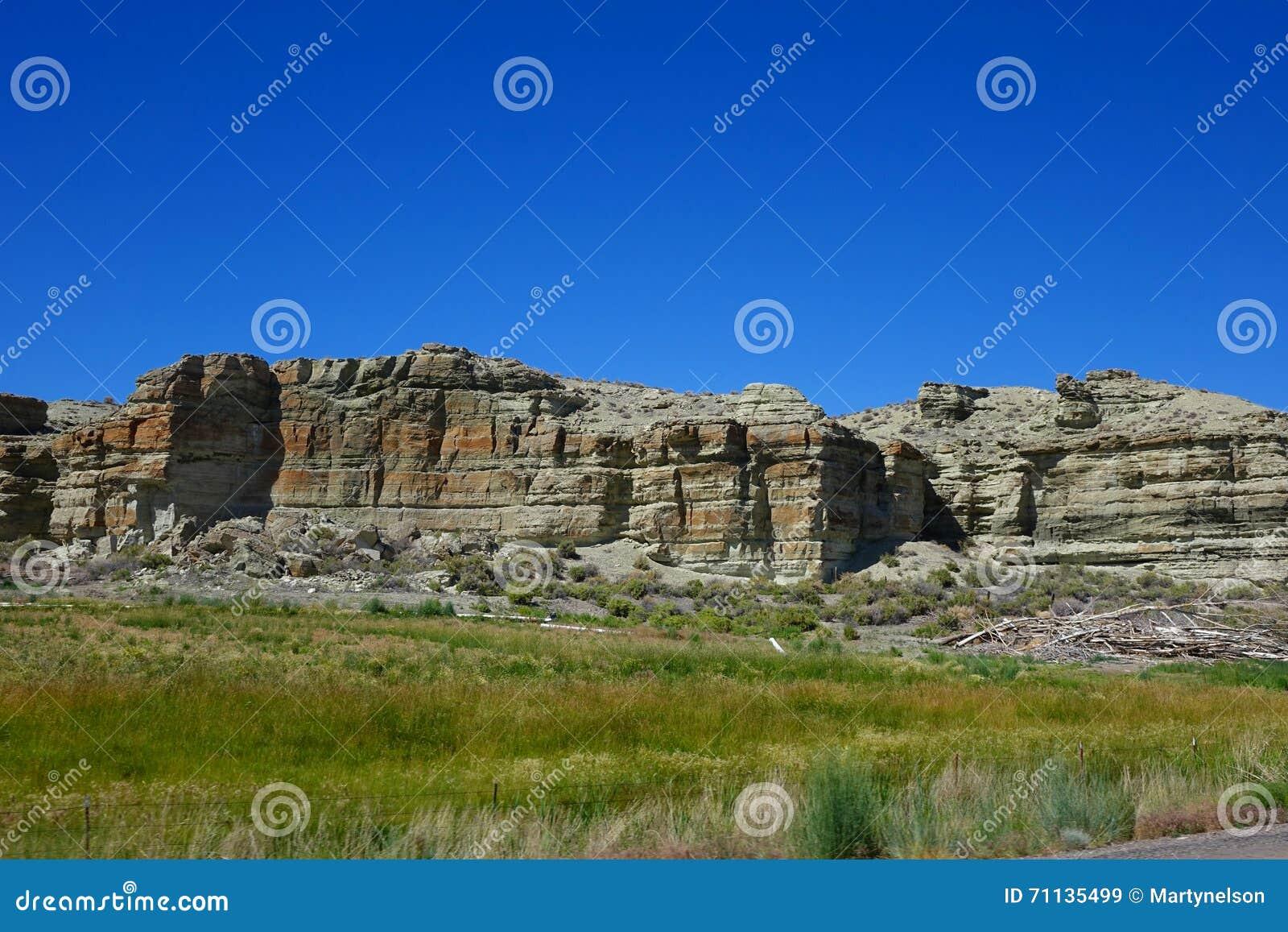 俄勒冈沙漠Mesas