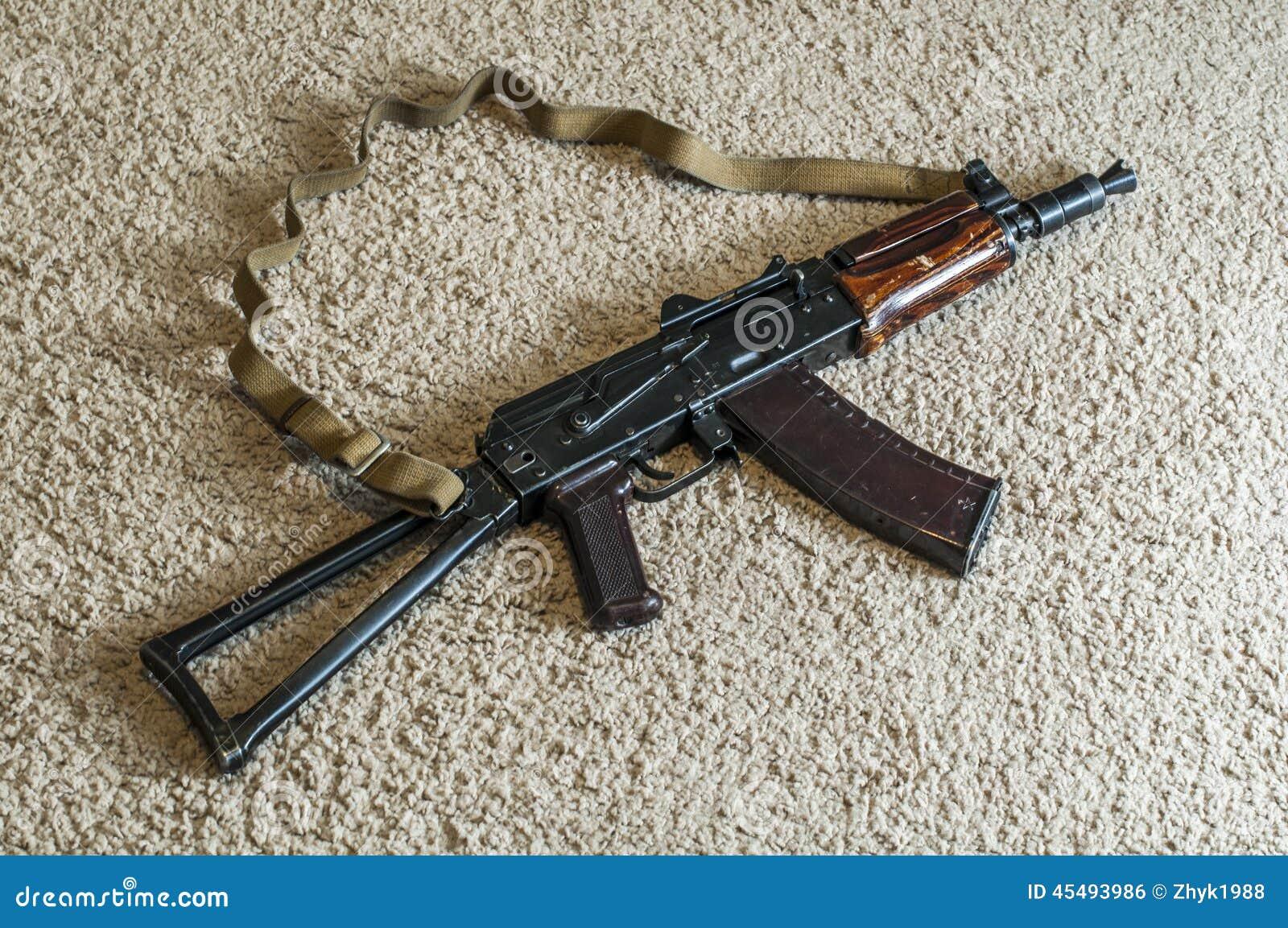 俄国自动AKS74-U