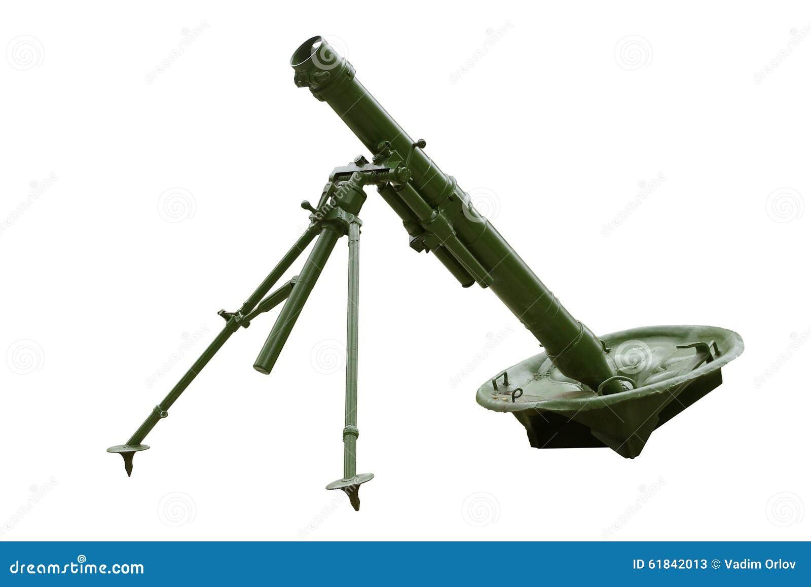 俄国120 mm团灰浆模型1938年