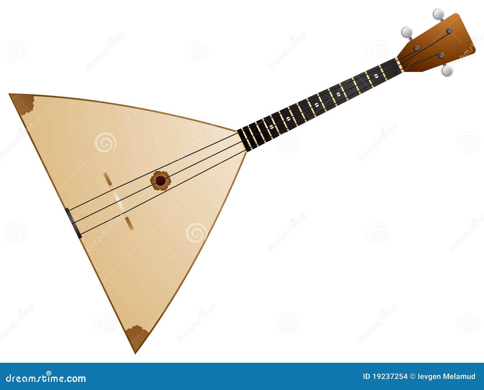 俄式三弦琴图片