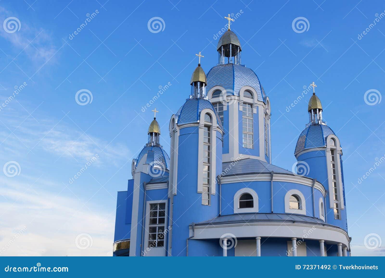 保佑的圣女玛丽亚的寺庙
