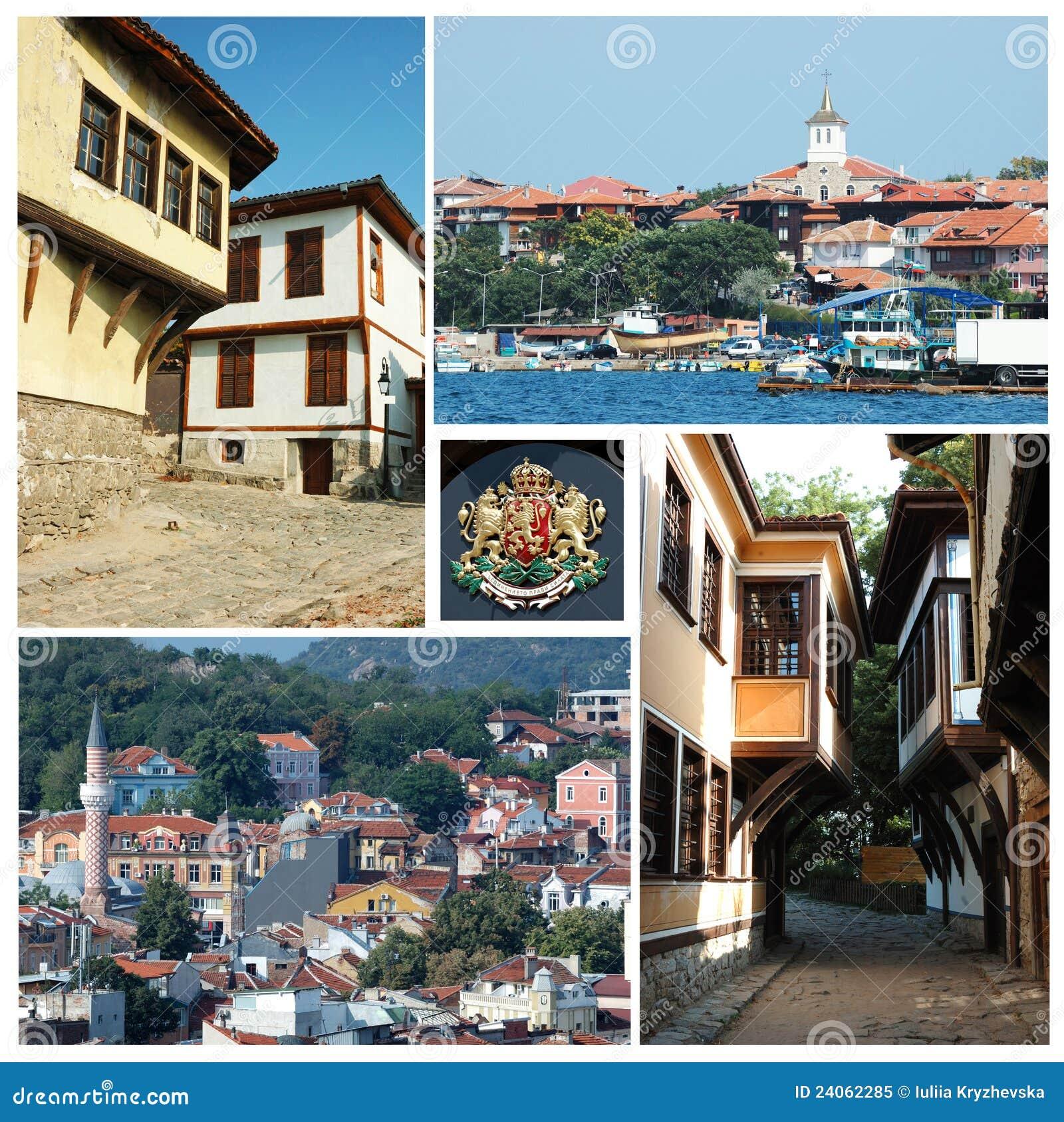 保加利亚拼贴画地标
