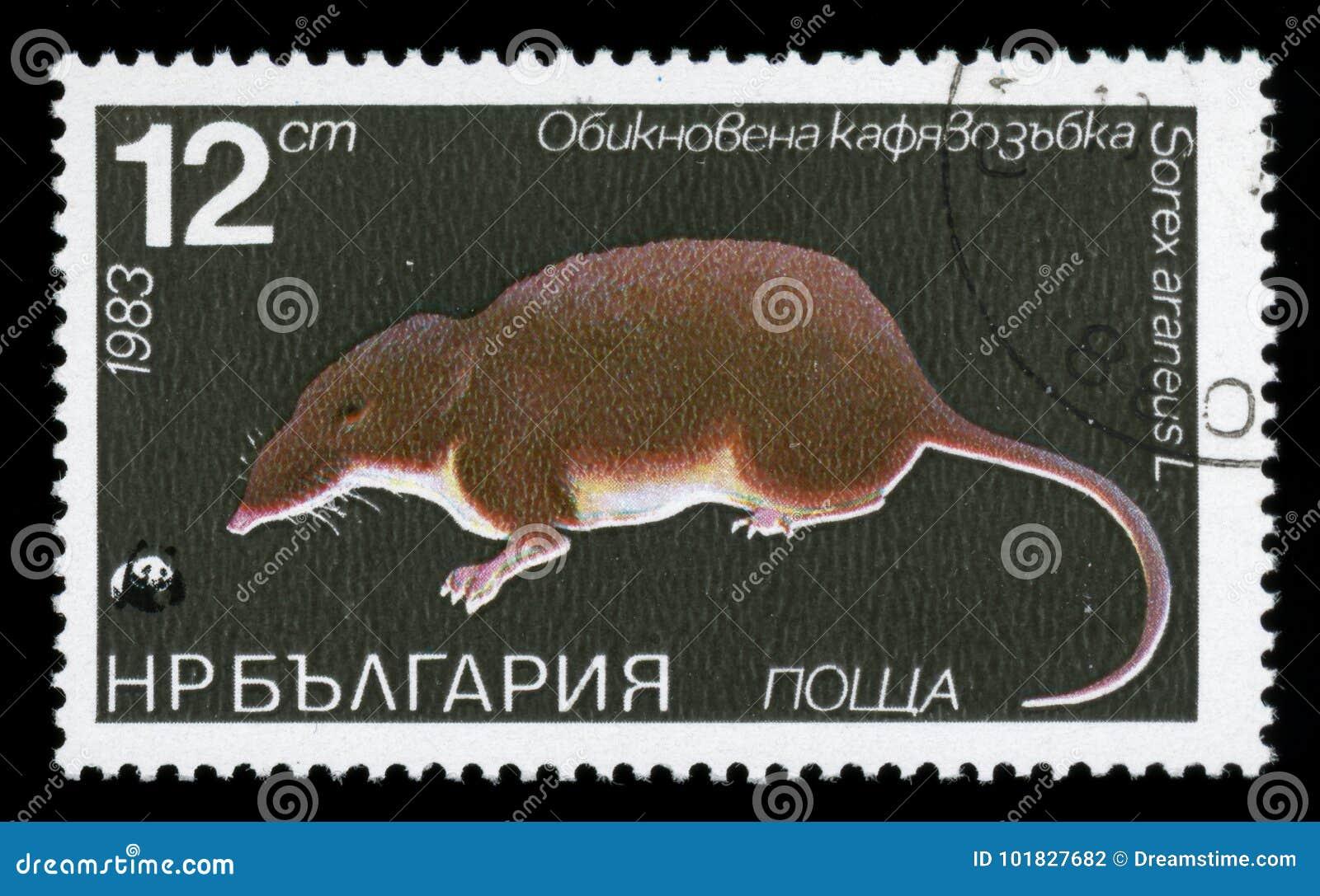 保加利亚`植物群和动物区系`邮票, 1983年