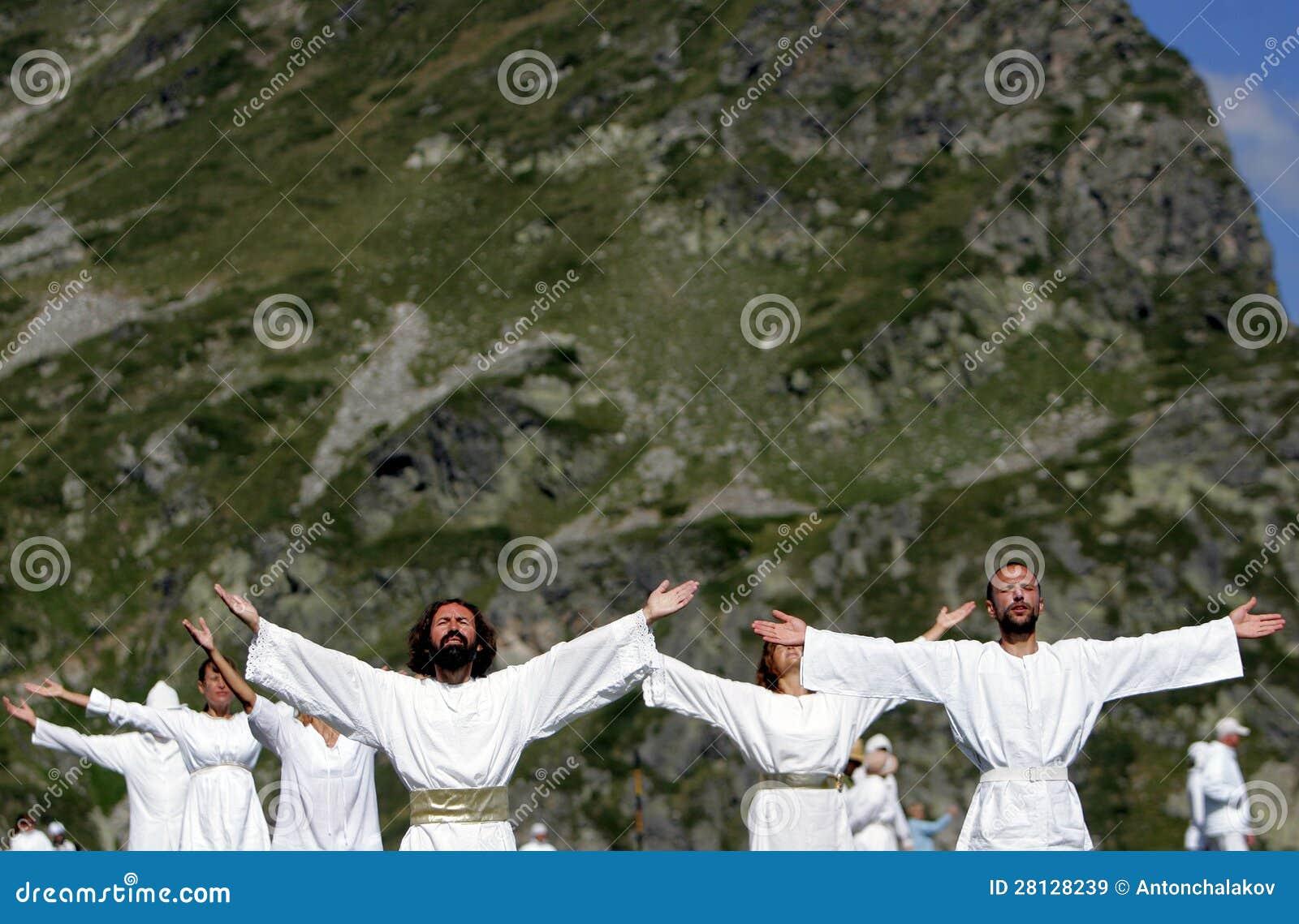 保加利亚Rila山白色团体