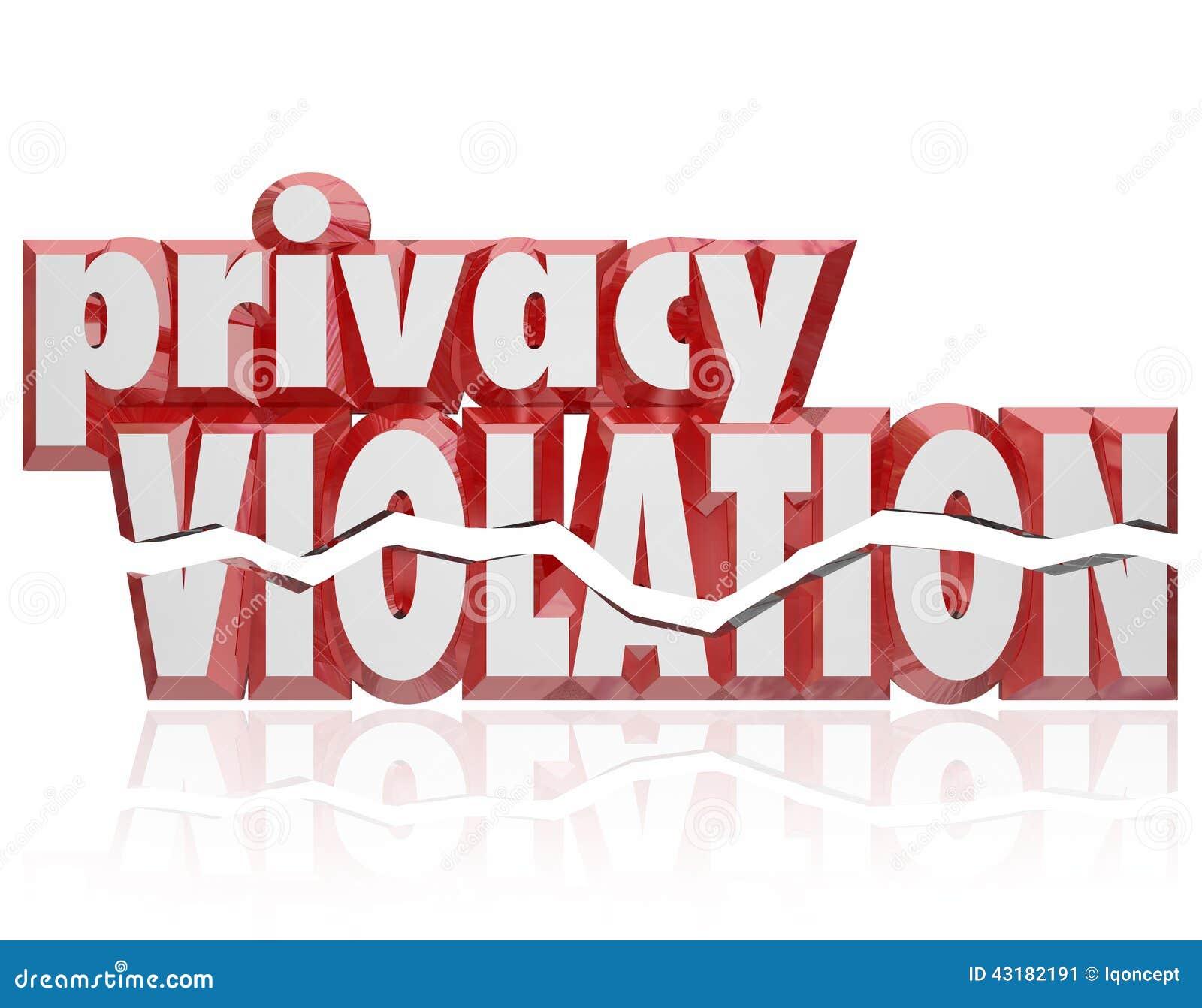 保密性侵害3d措辞破裂的信件入侵私有信息
