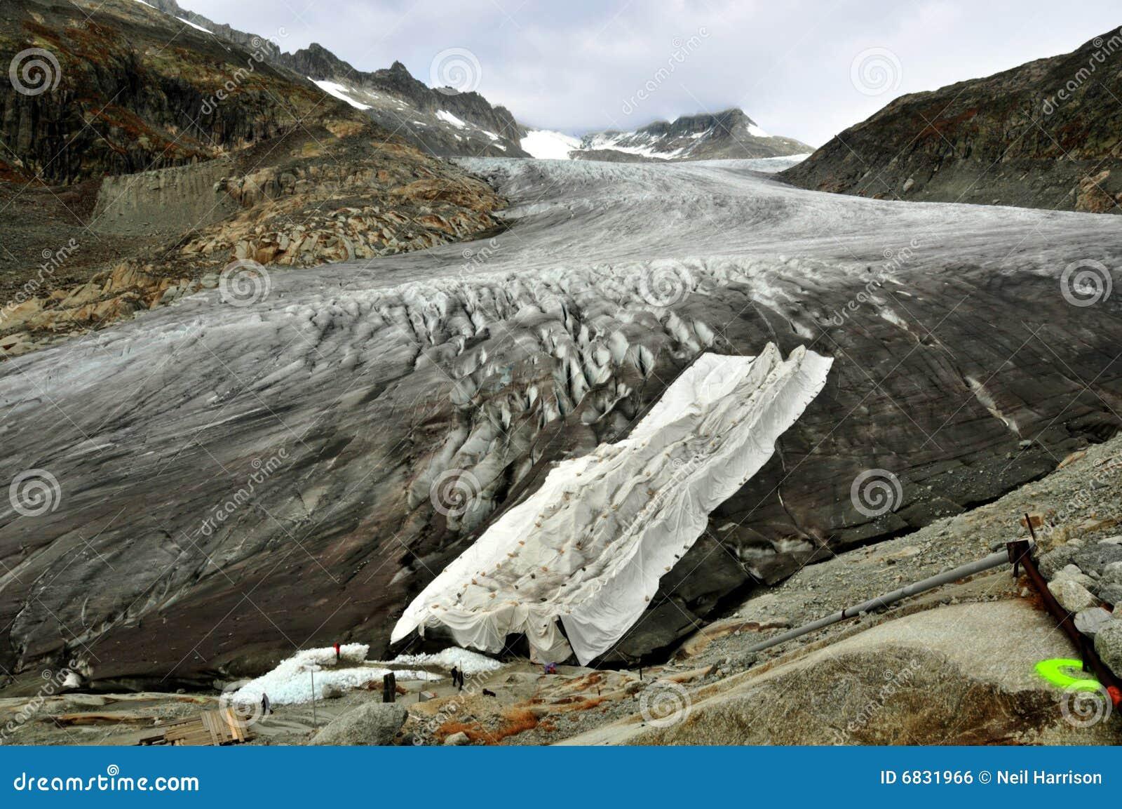 保护罗讷的冰川