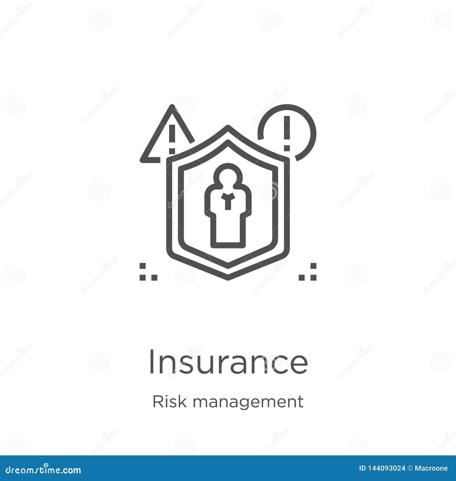 保险从风险管理汇集的象传染媒介 稀薄的线保险概述象传染媒介例证 概述,稀薄的线