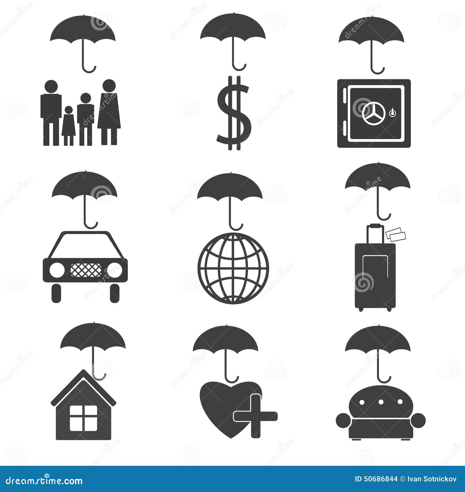 Download 保险公司的象 向量例证. 插画 包括有 符号, 例证, 家具, 工具, 货币, 次幂, 向量, 图标, 保护 - 50686844