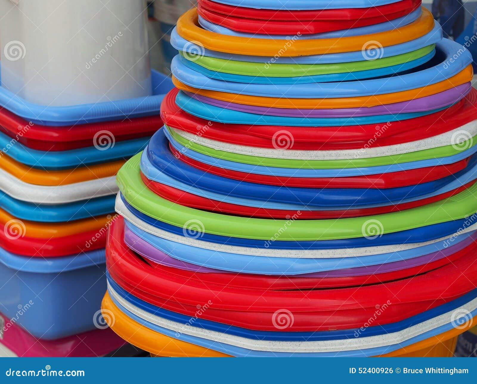 滚保龄球五颜六色的塑料