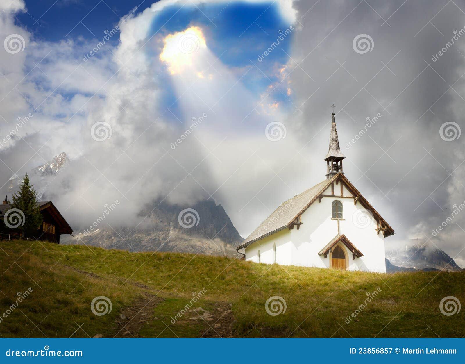 信仰基督教概念神替补